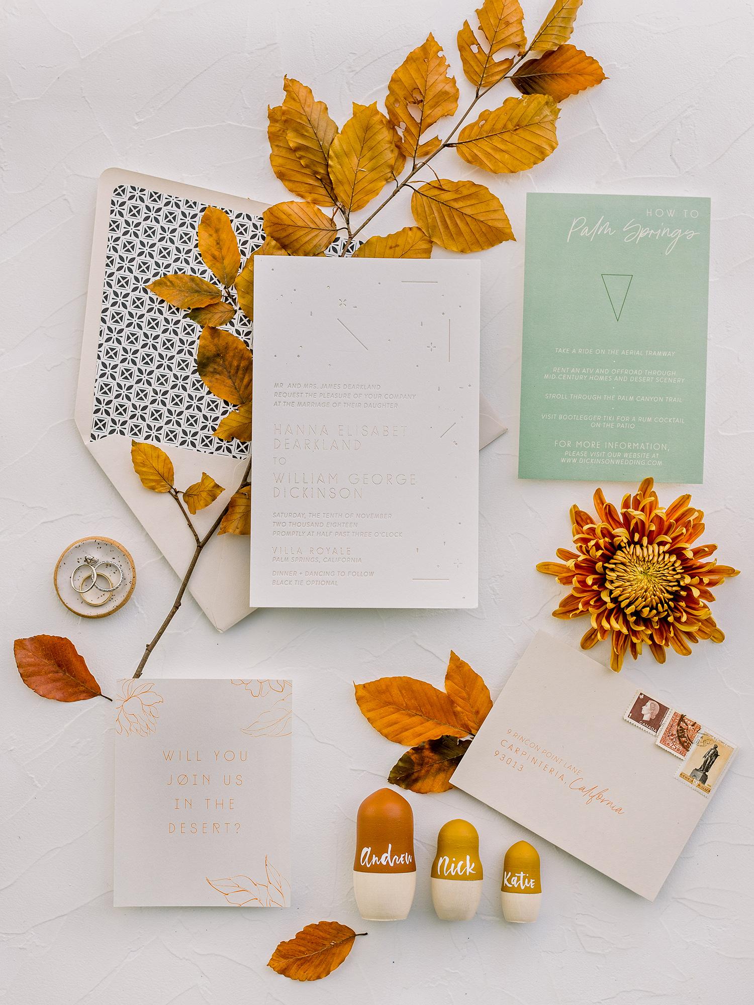 hanna will wedding invites