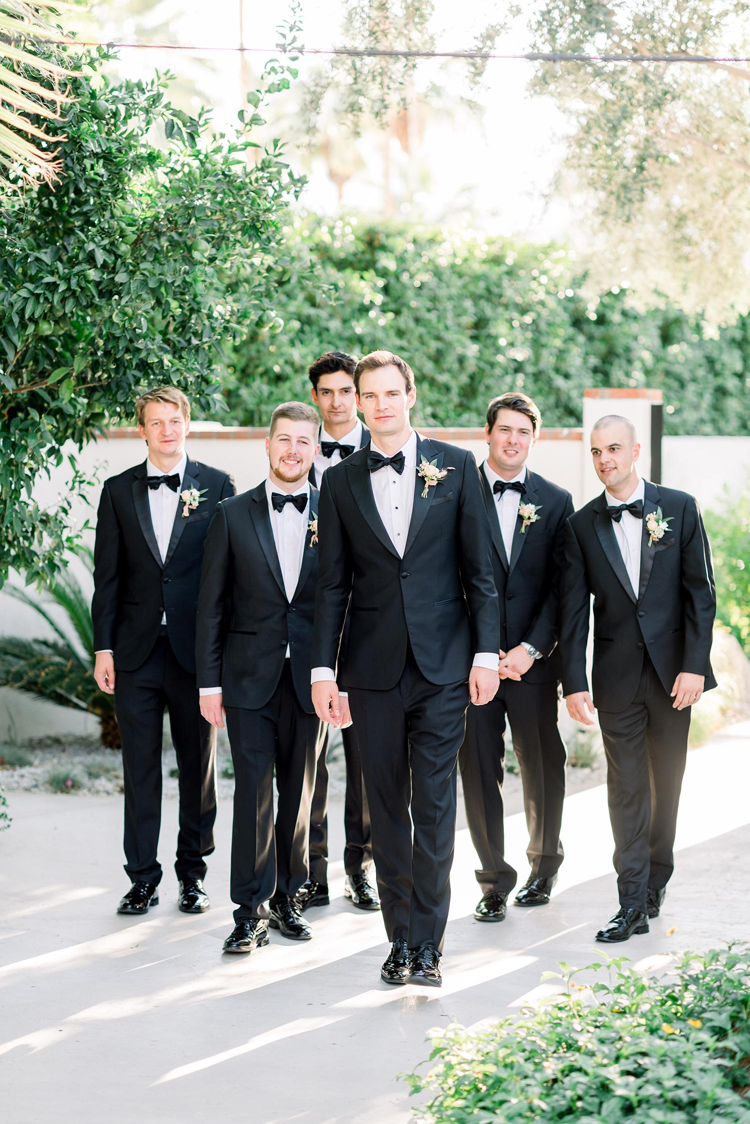 hanna will wedding groomsmen