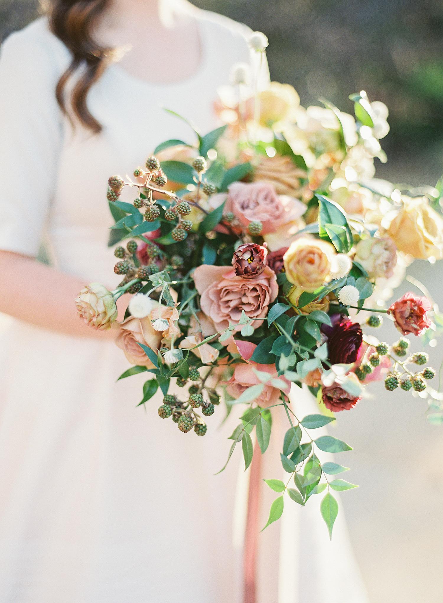 brooke dalton wedding bride's bouquet