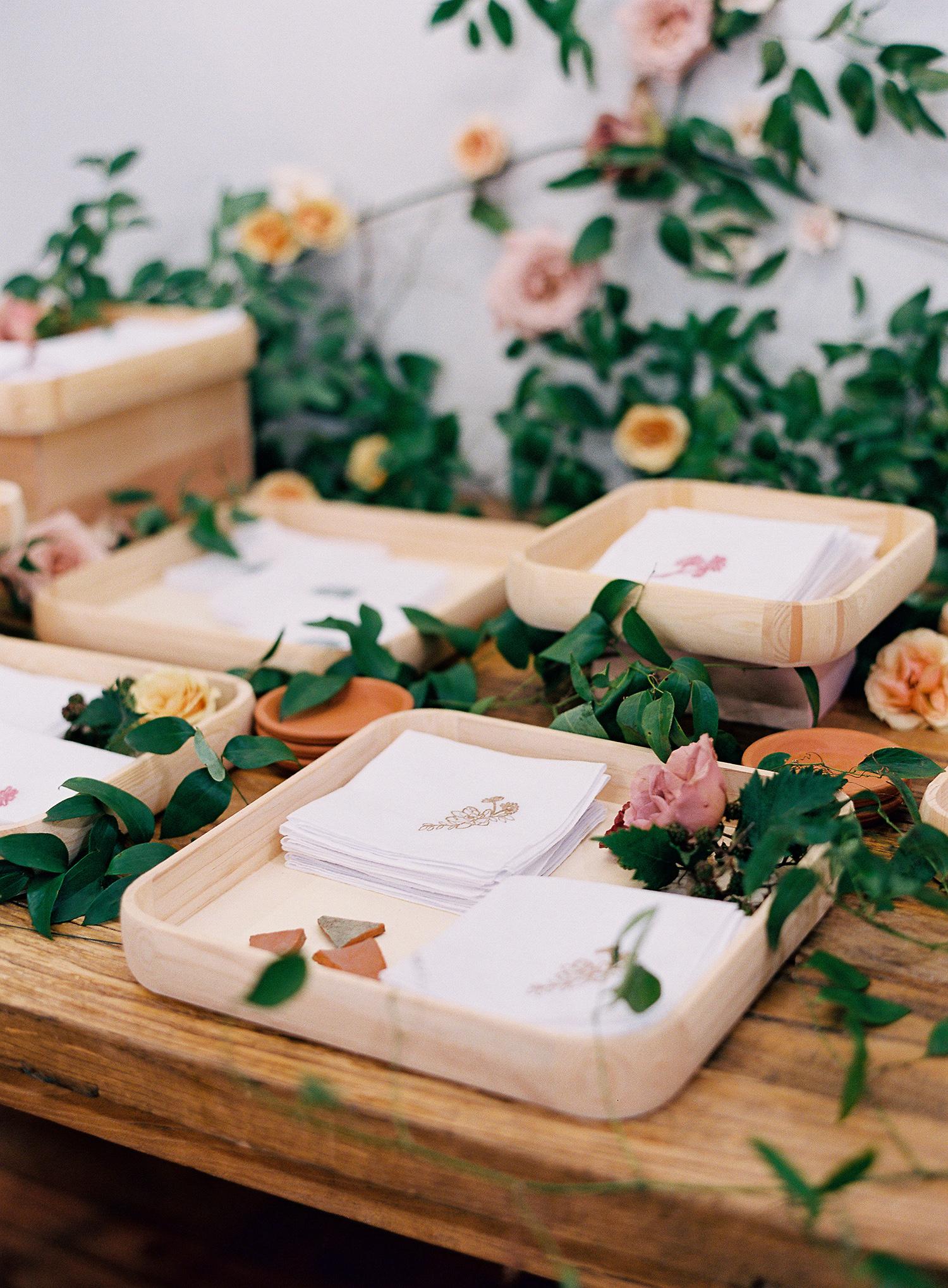 brooke dalton wedding handkerchiefs