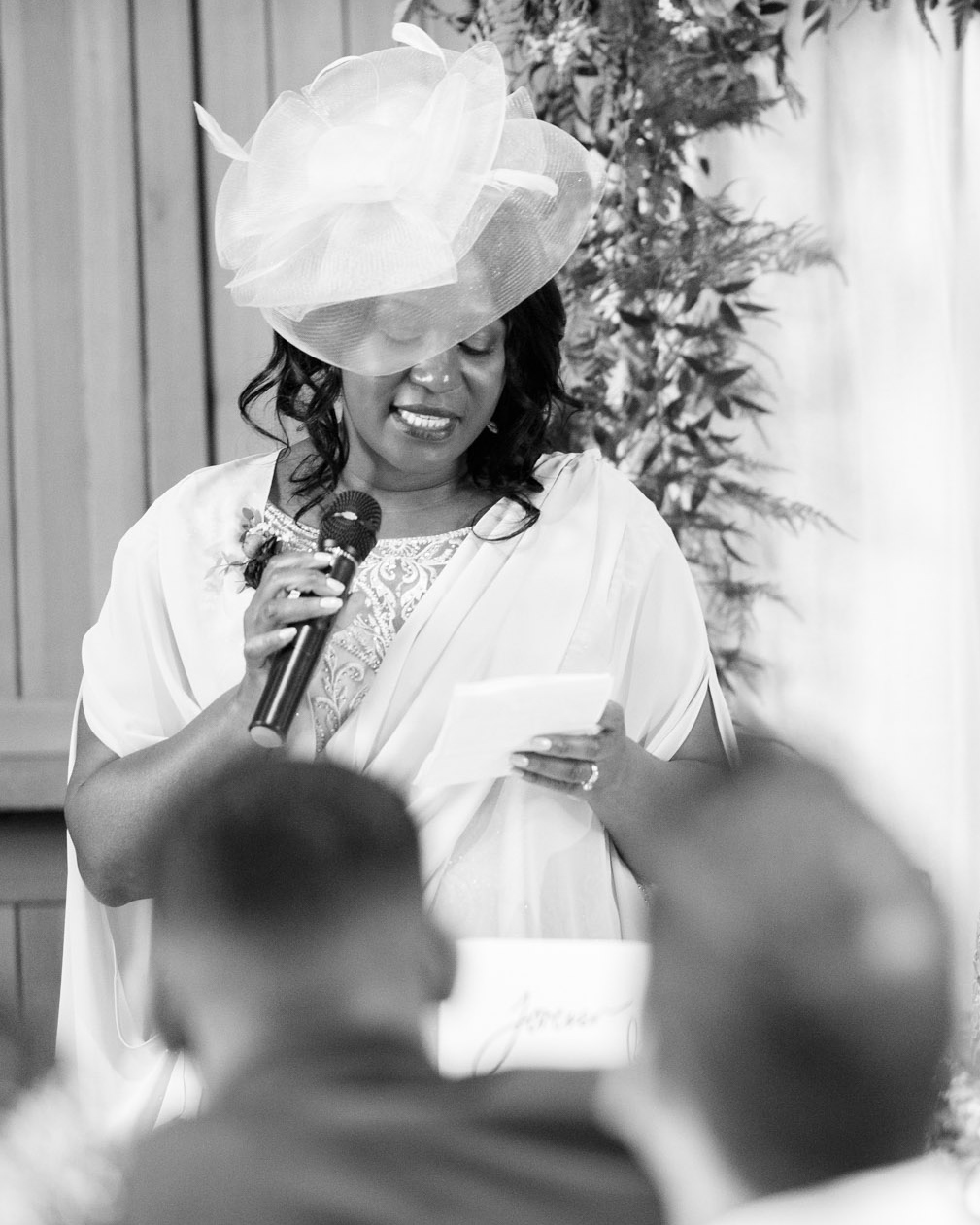 ryan thomas wedding woman giving speech
