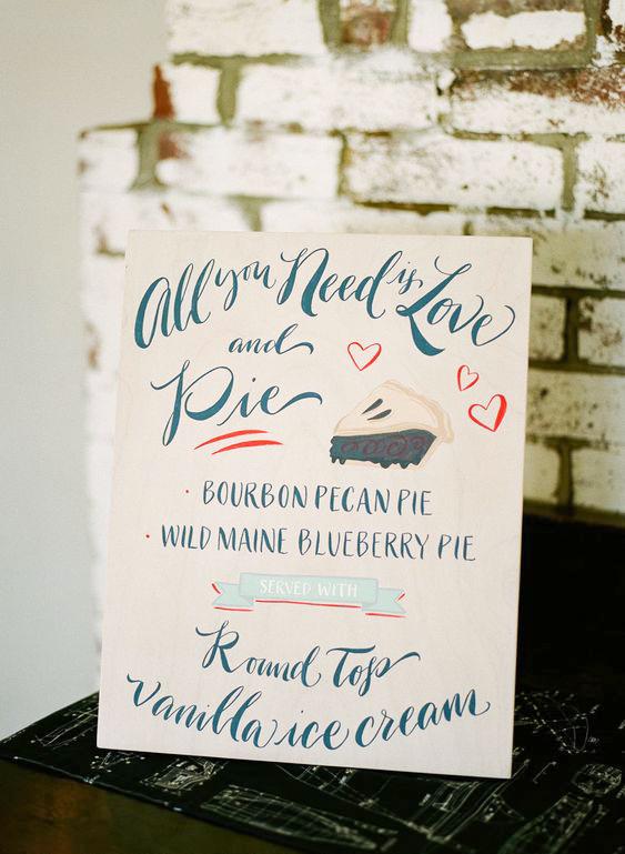 dessert menu ideas creative romantic quote