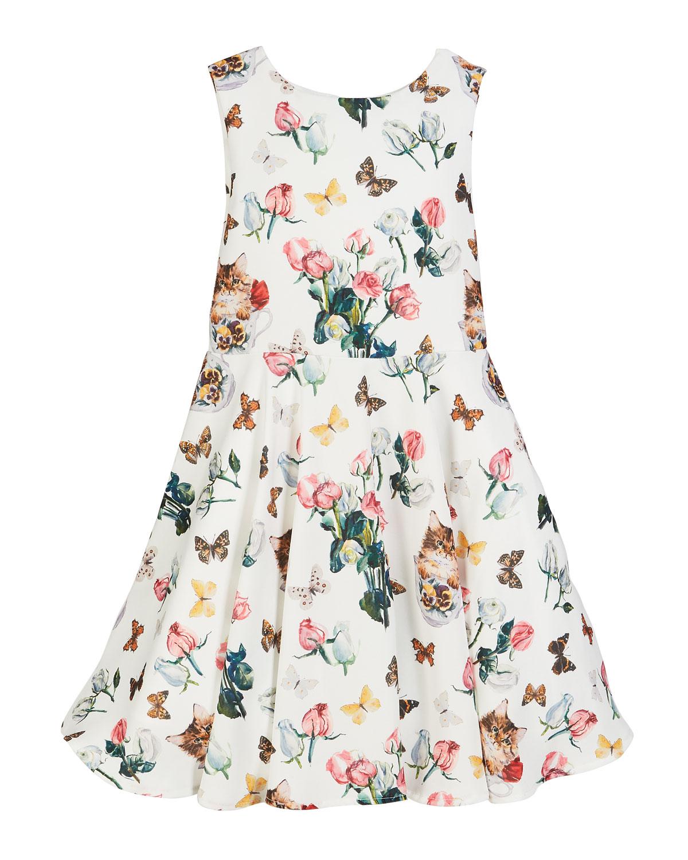 Charabia Mixed Floral Dress