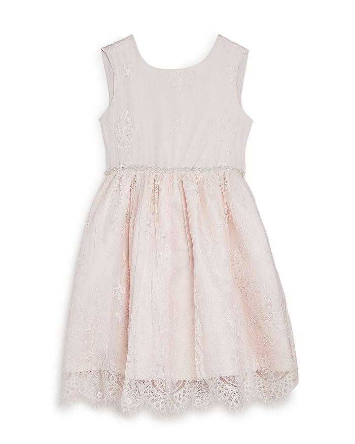 Us Angels Embellished Lace Dress