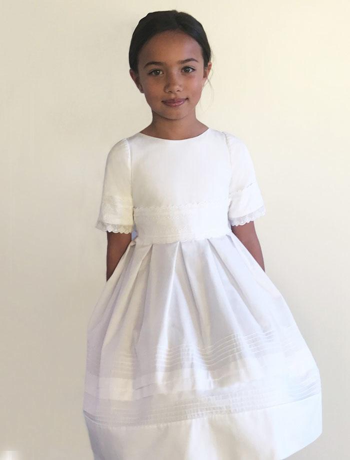 Isabel Garreton Lace and Cotton Dress