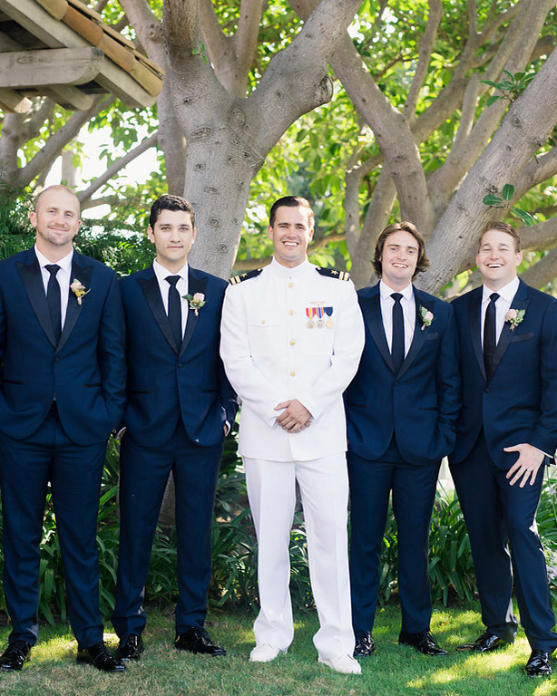 paige zack wedding groomsmen