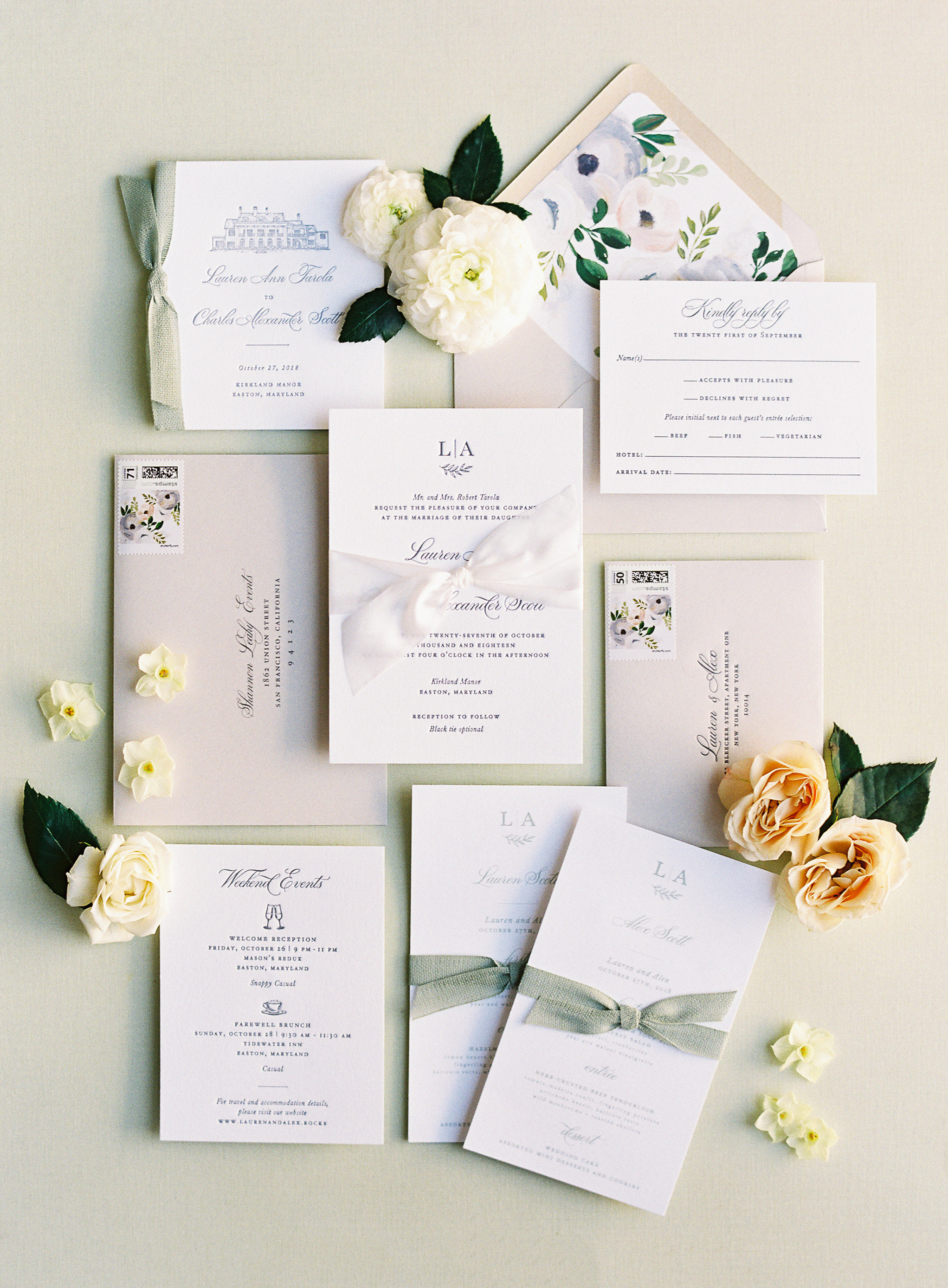 lauren alex wedding invitations