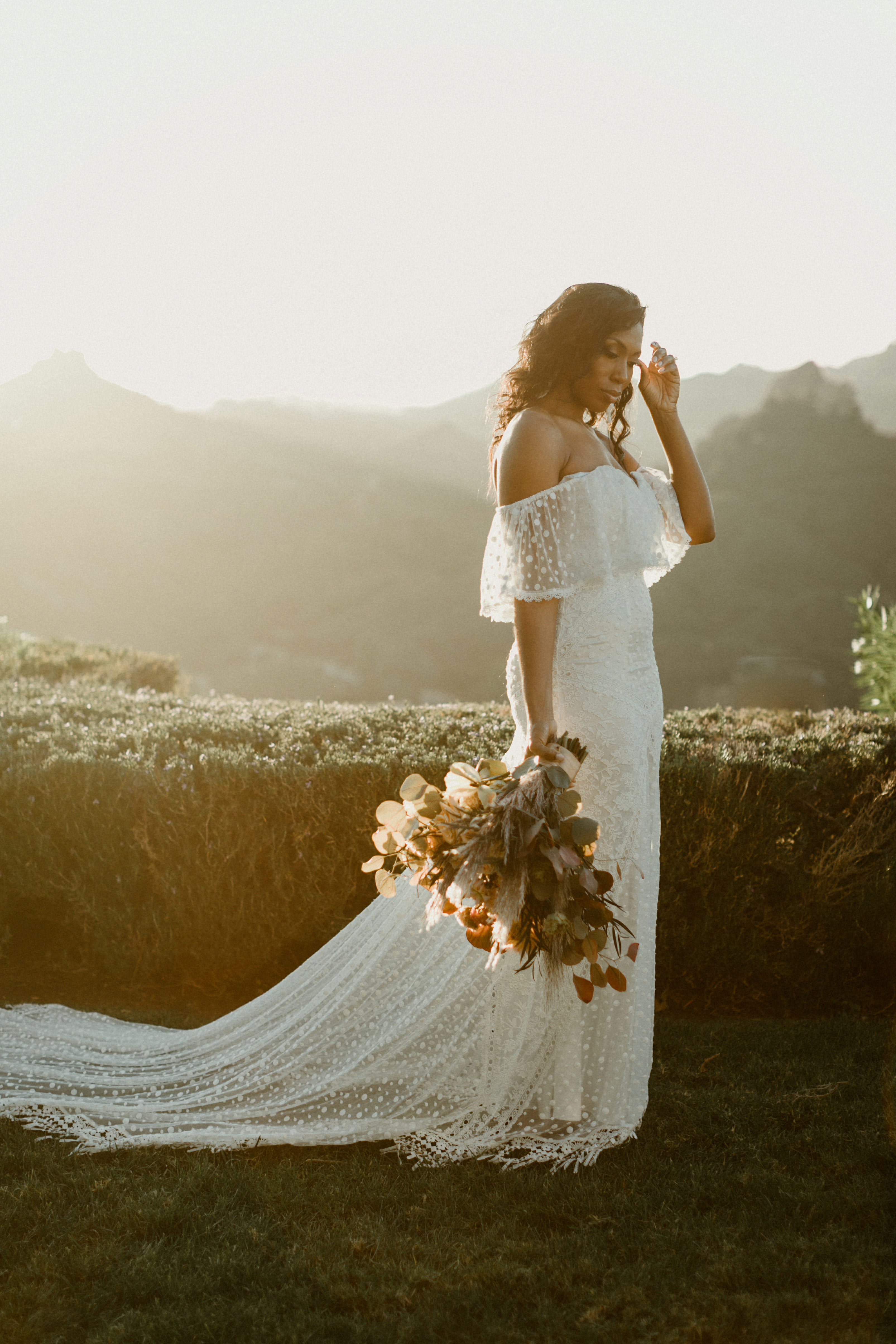 off the shoulder wedding dresses katch silva