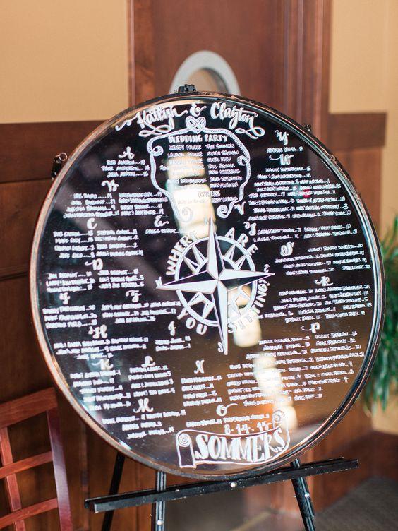compass wedding ideas mirror program