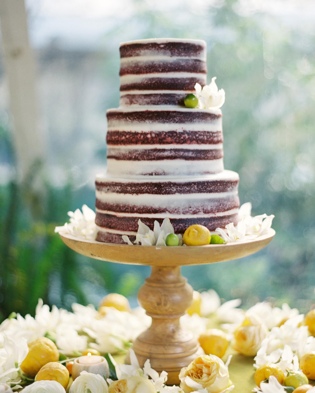 Beautiful Naked Wedding Cake Ideas | Martha Stewart Weddings