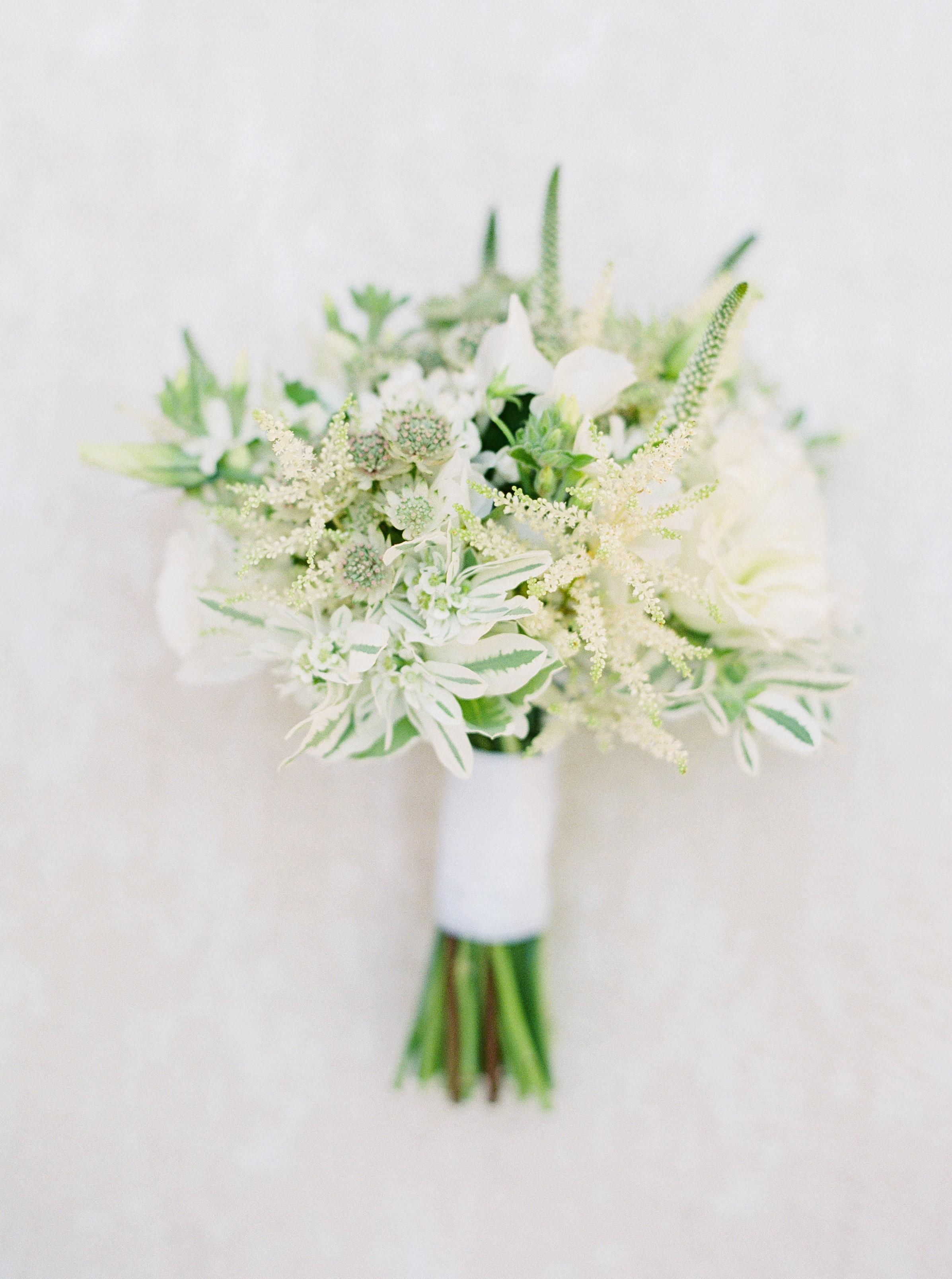 Elizabeth's wedding-bouquet