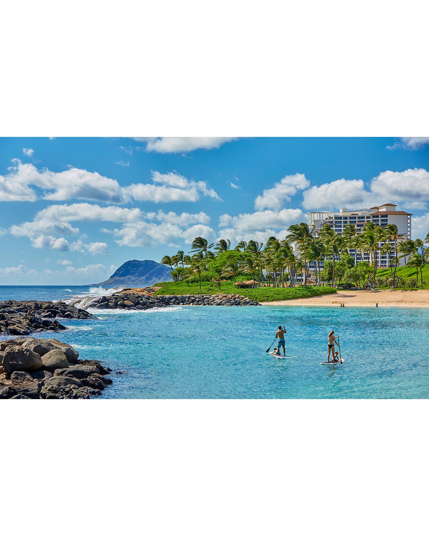 Ko Olina Beach in Oahu, Hawaii