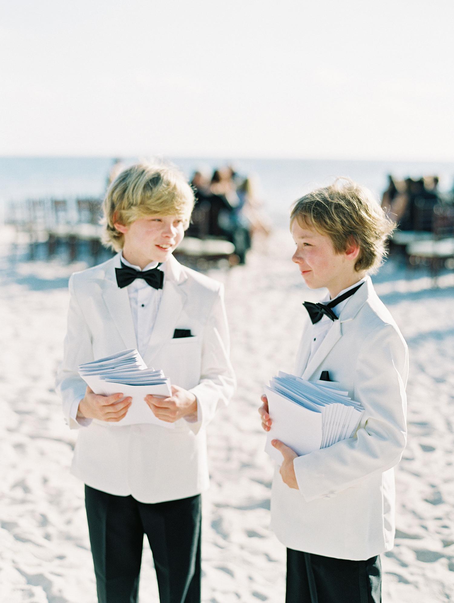 beth john wedding young ushers