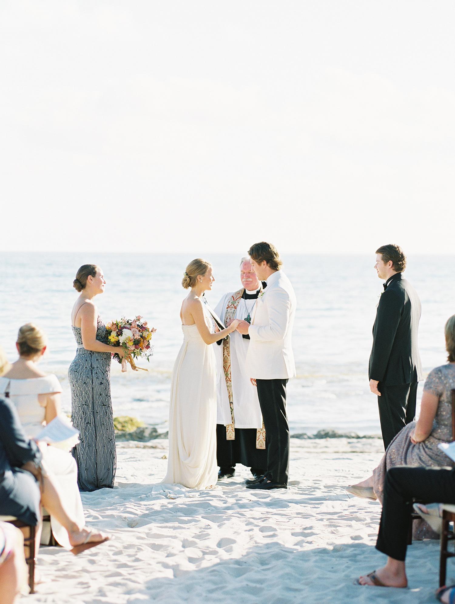 beth john wedding ceremony on the beach