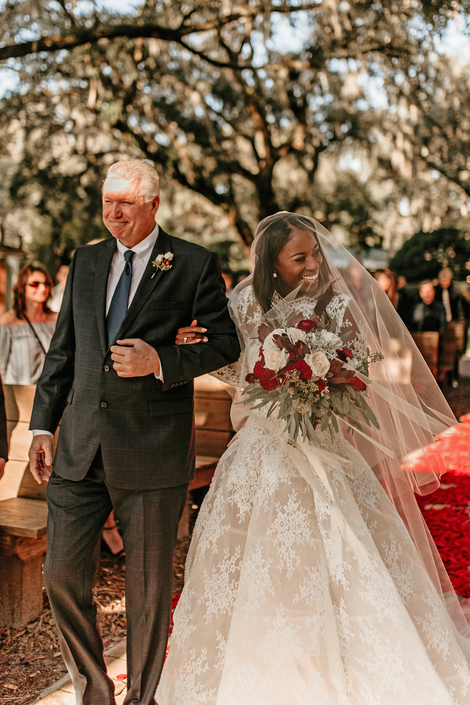 aerielle dyan wedding processional