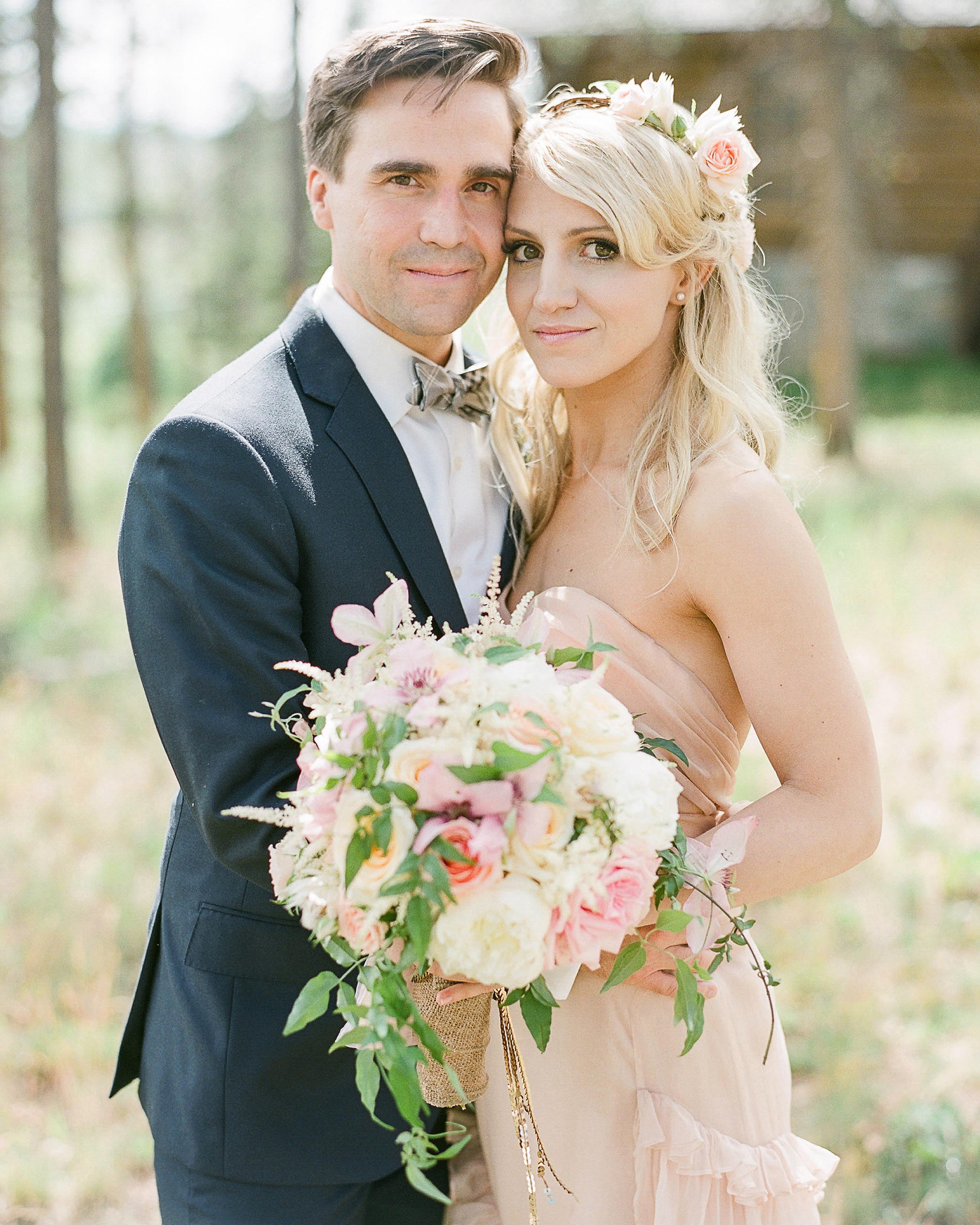 Martha Stewart Weddings: A Rustic Outdoor Destination Wedding In Colorado