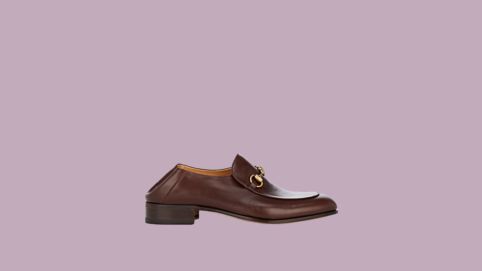 "Gucci ""Horse-Bit"" Leather Loafers"