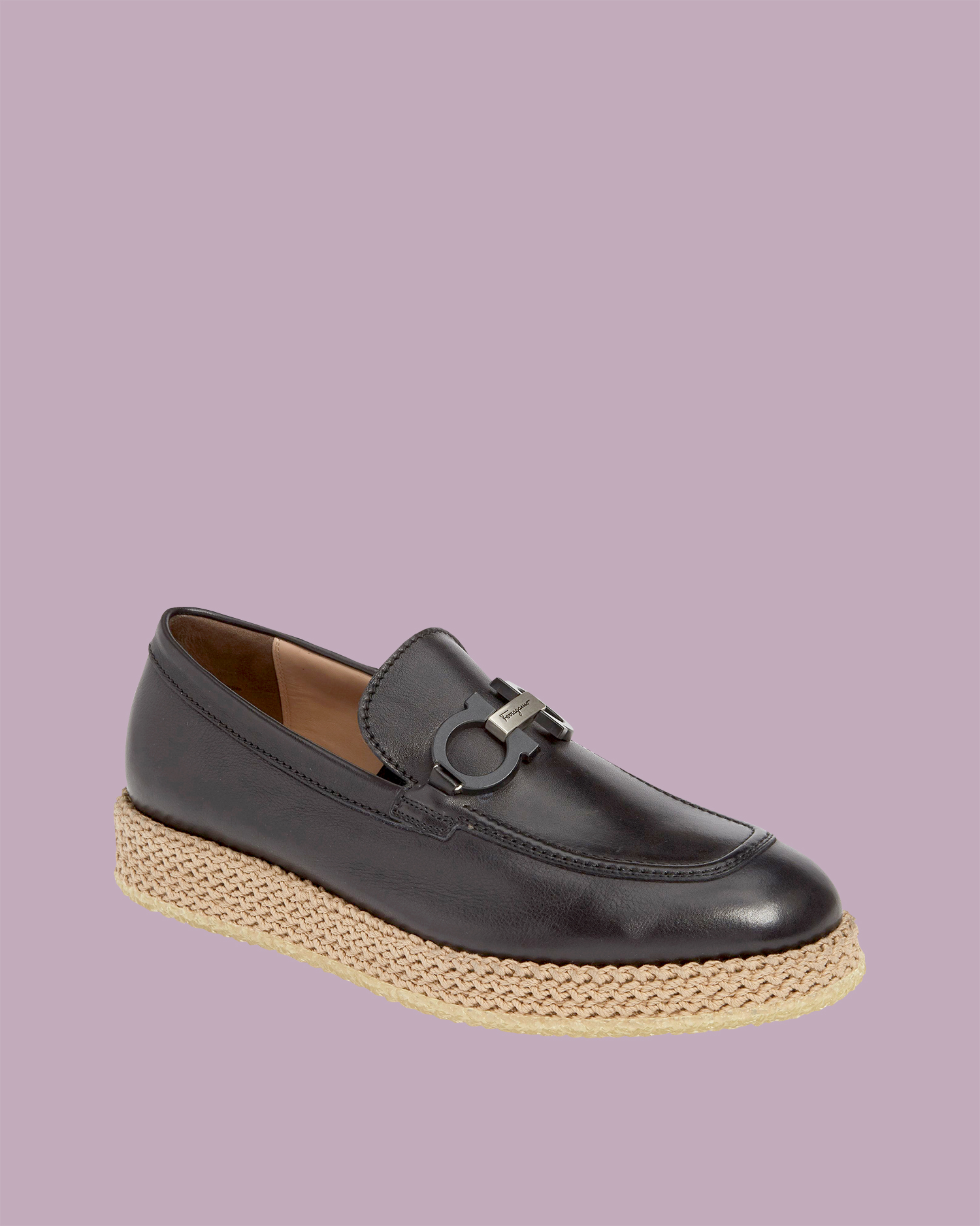 "Salvatore Ferragamo ""Arinos"" Leather Loafers"