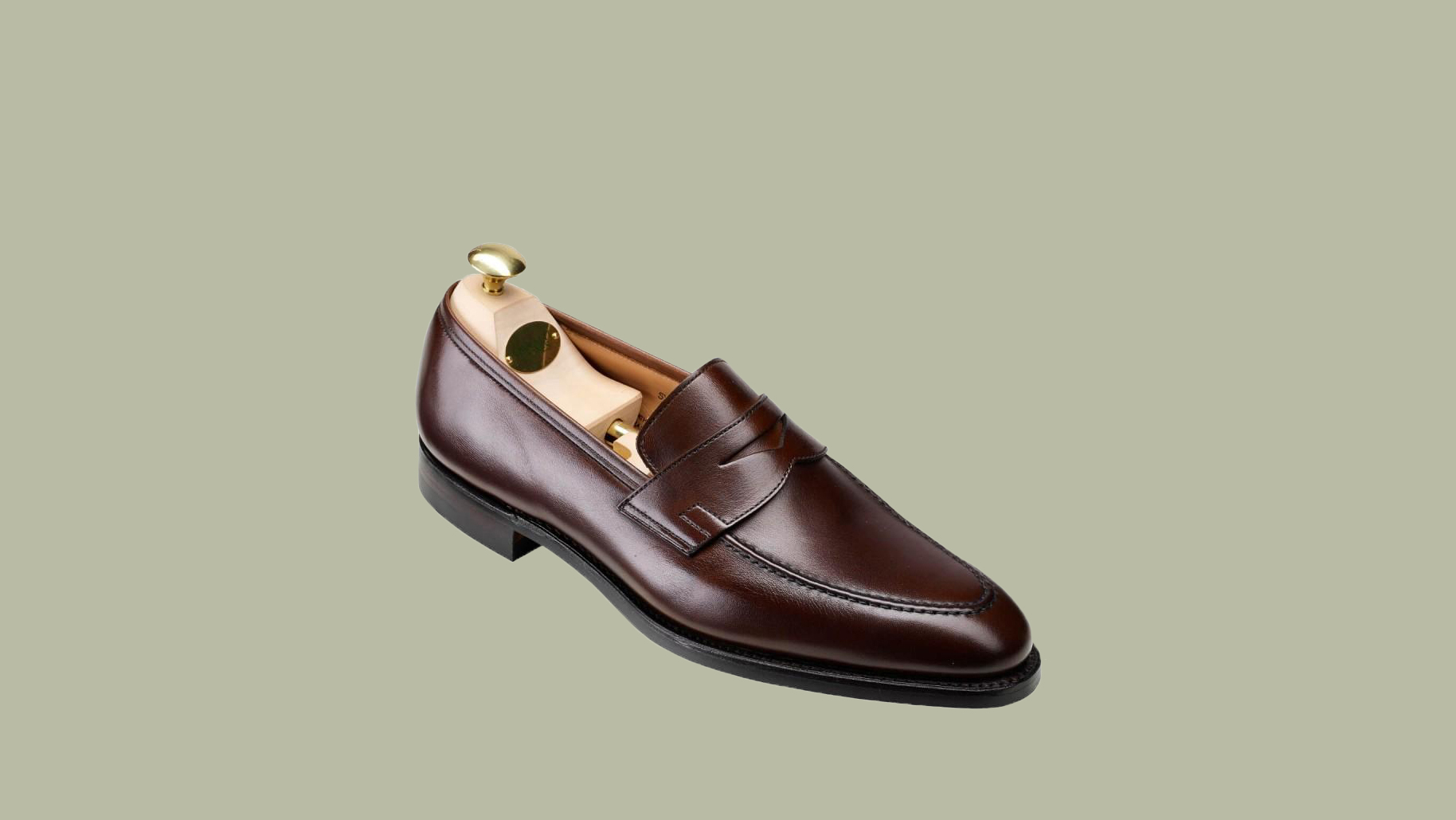 "Crockett & Jones ""Sydney"" City Sole in Brown"