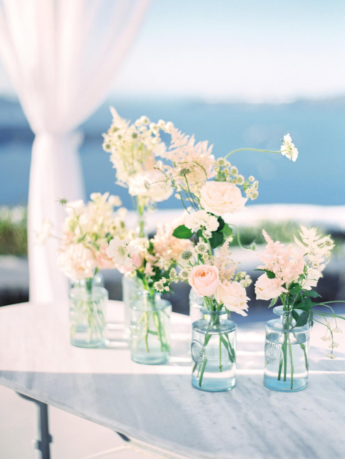 Simple Wedding Table Decor