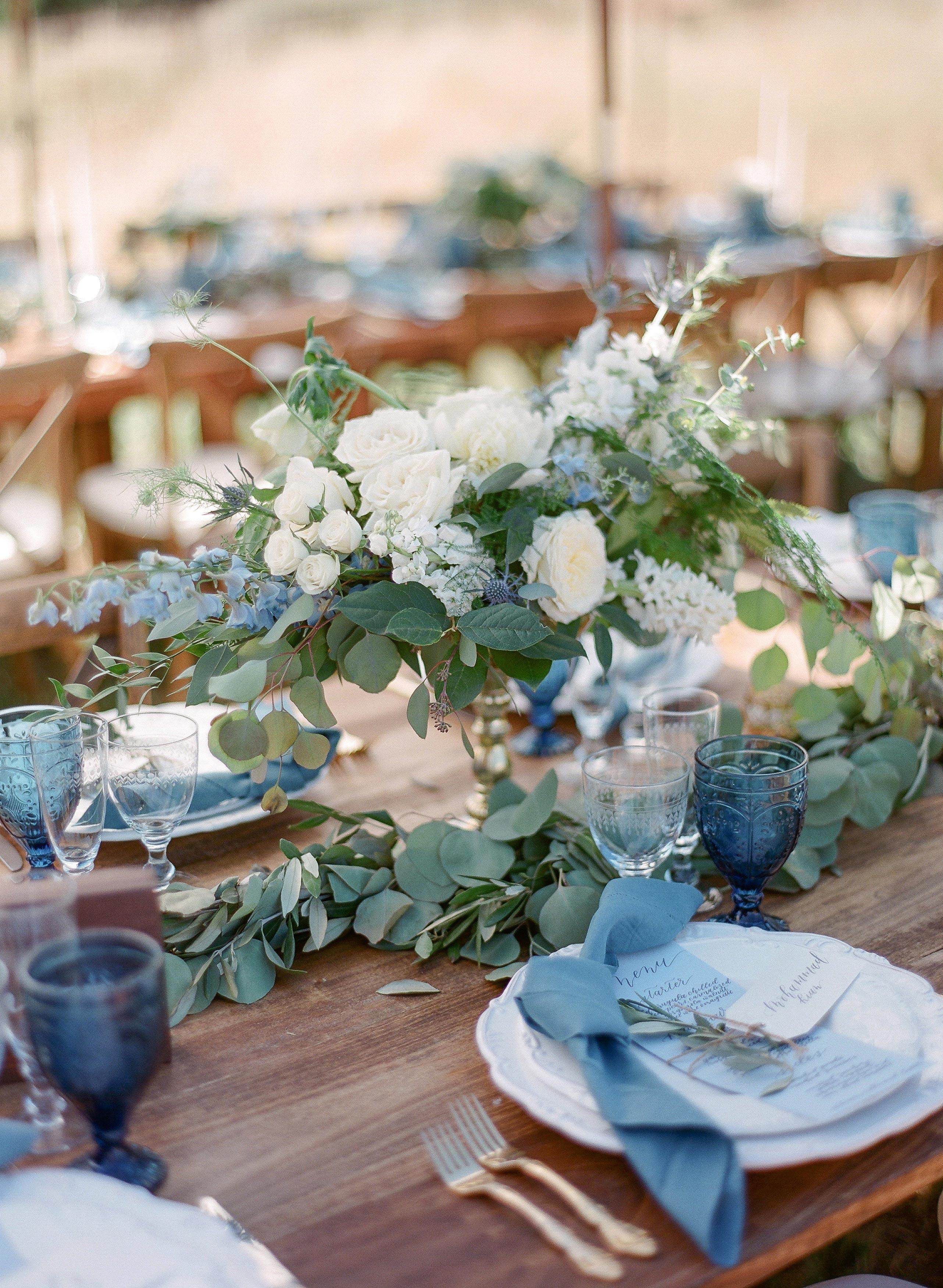 20 Blue Wedding Color Palettes We Love Martha Stewart