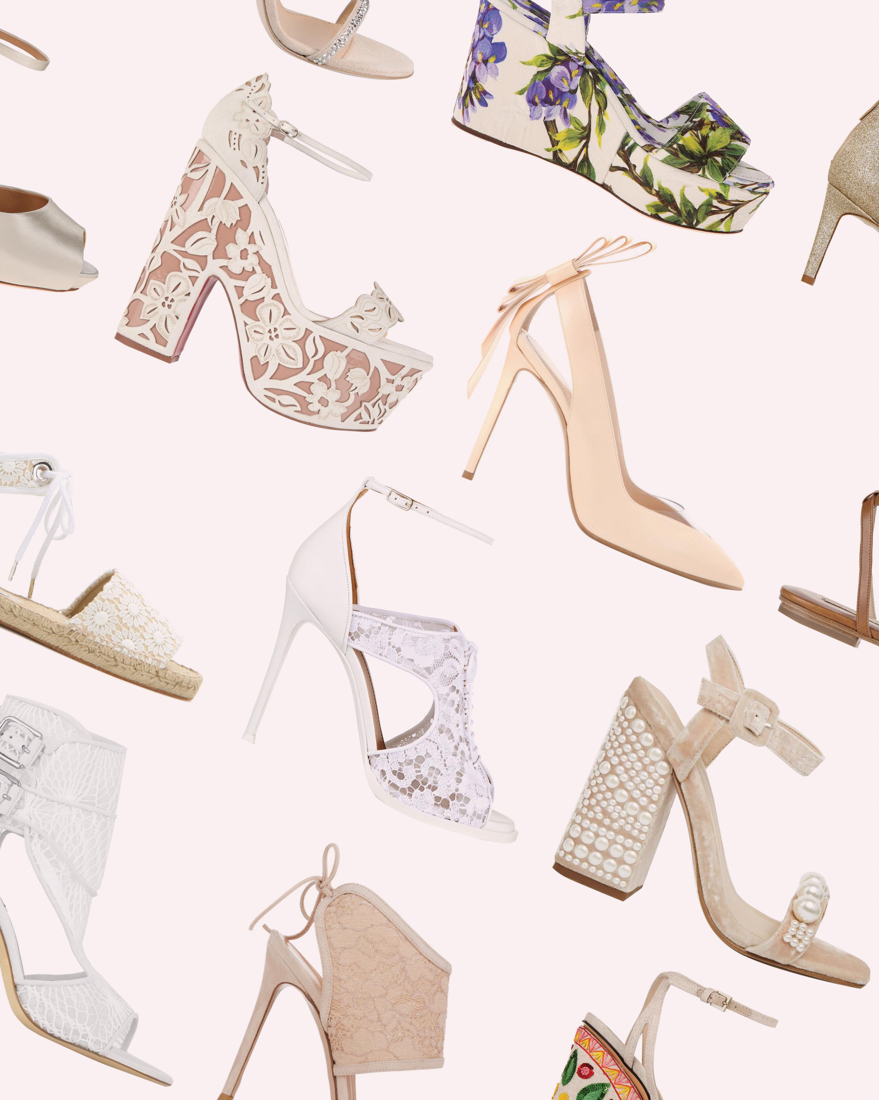 639180744d923 50 Best Shoes for a Bride to Wear to a Summer Wedding | Martha Stewart  Weddings
