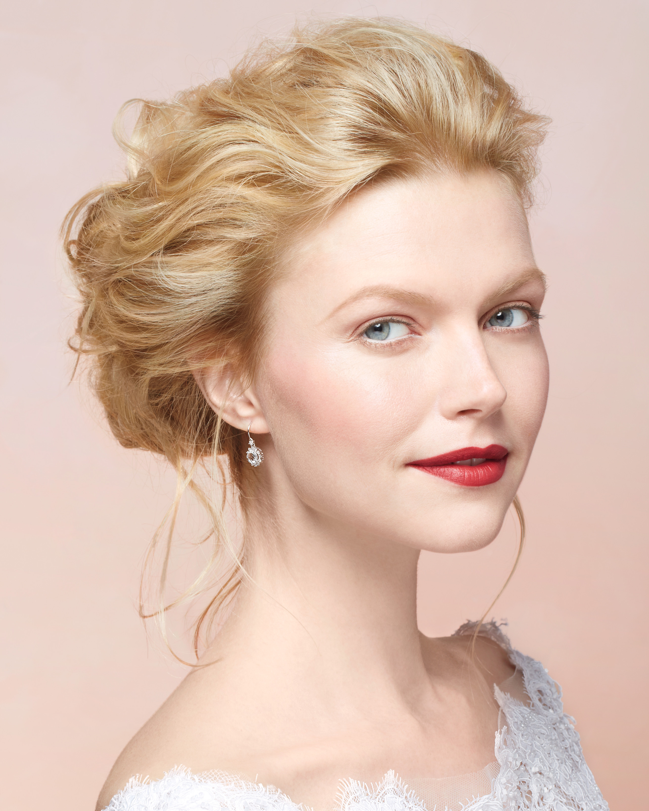 Short Hairstyle For Join Wedding: Martha Stewart Weddings
