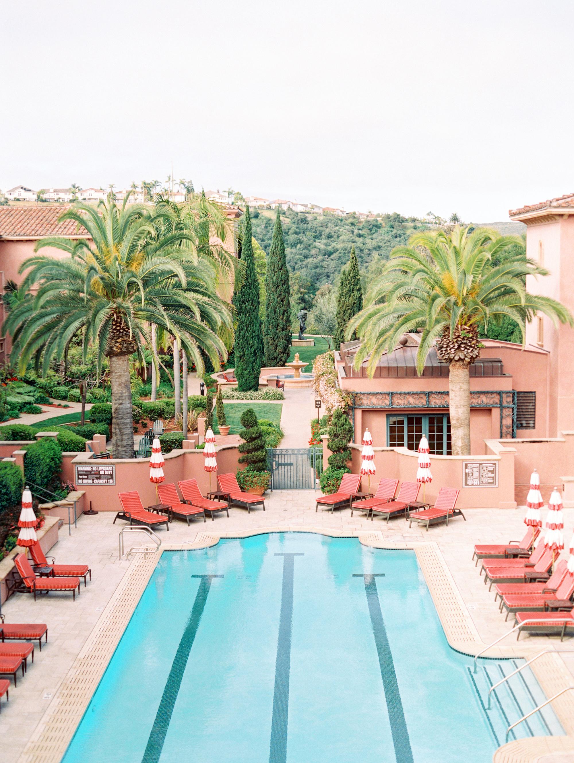 cavin david wedding venue pool