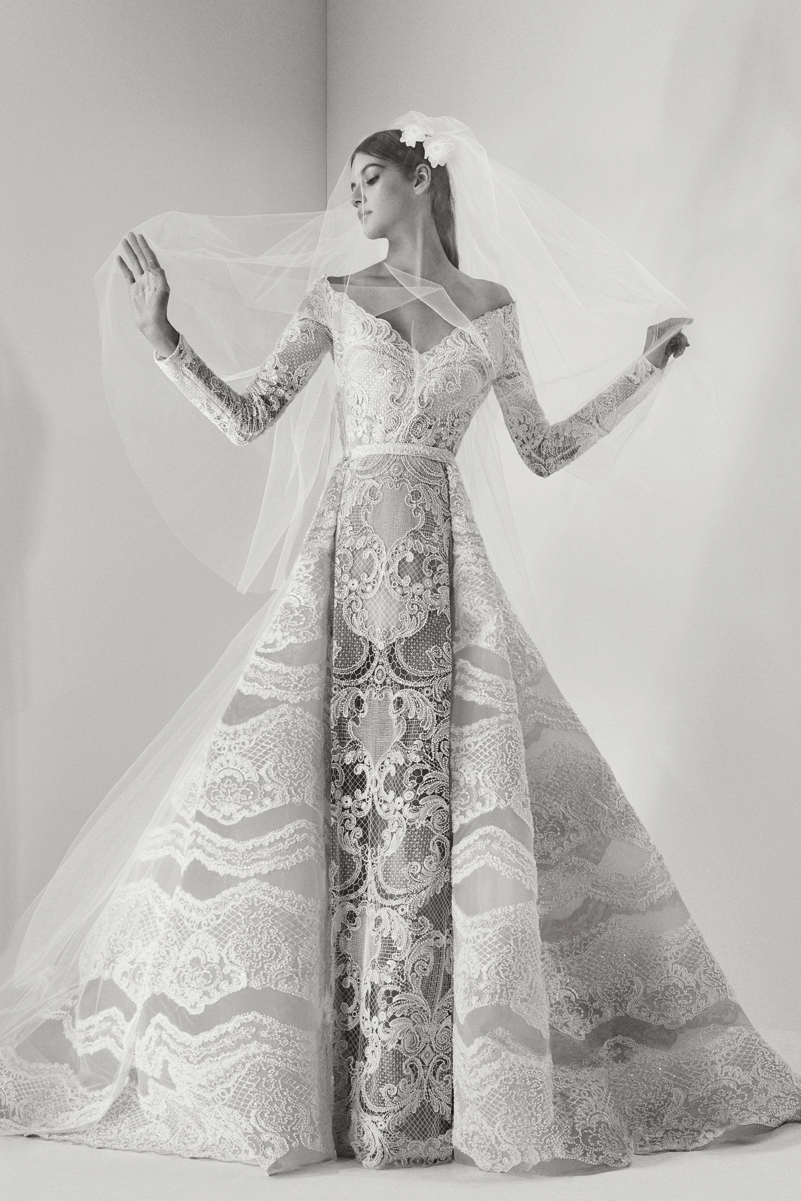 Elie Saab Wedding Dresses.Elie Saab Fall 2017 Wedding Dress Collection Martha Stewart Weddings
