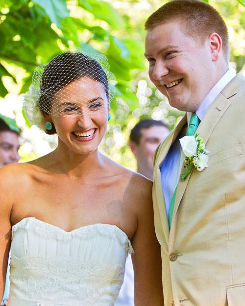 Vintage Wedding Dresses Bay Area: A Vintage DIY Wedding Outdoors In Massachusetts
