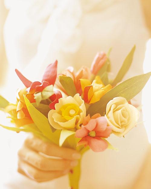 How To Make Crepe Paper Flowers Martha Stewart Weddings