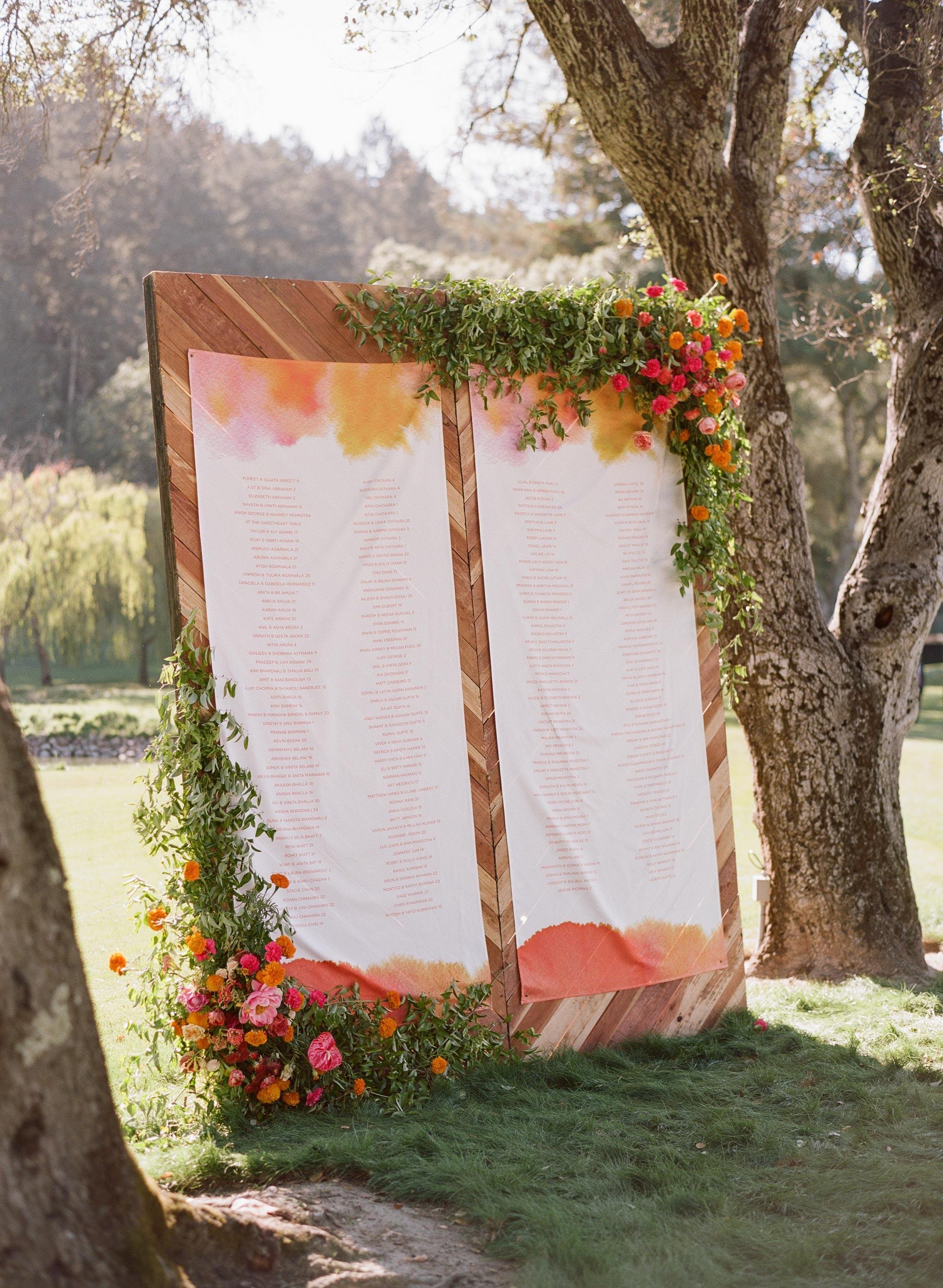 How to Make a Wedding Seating Chart | Martha Stewart Weddings