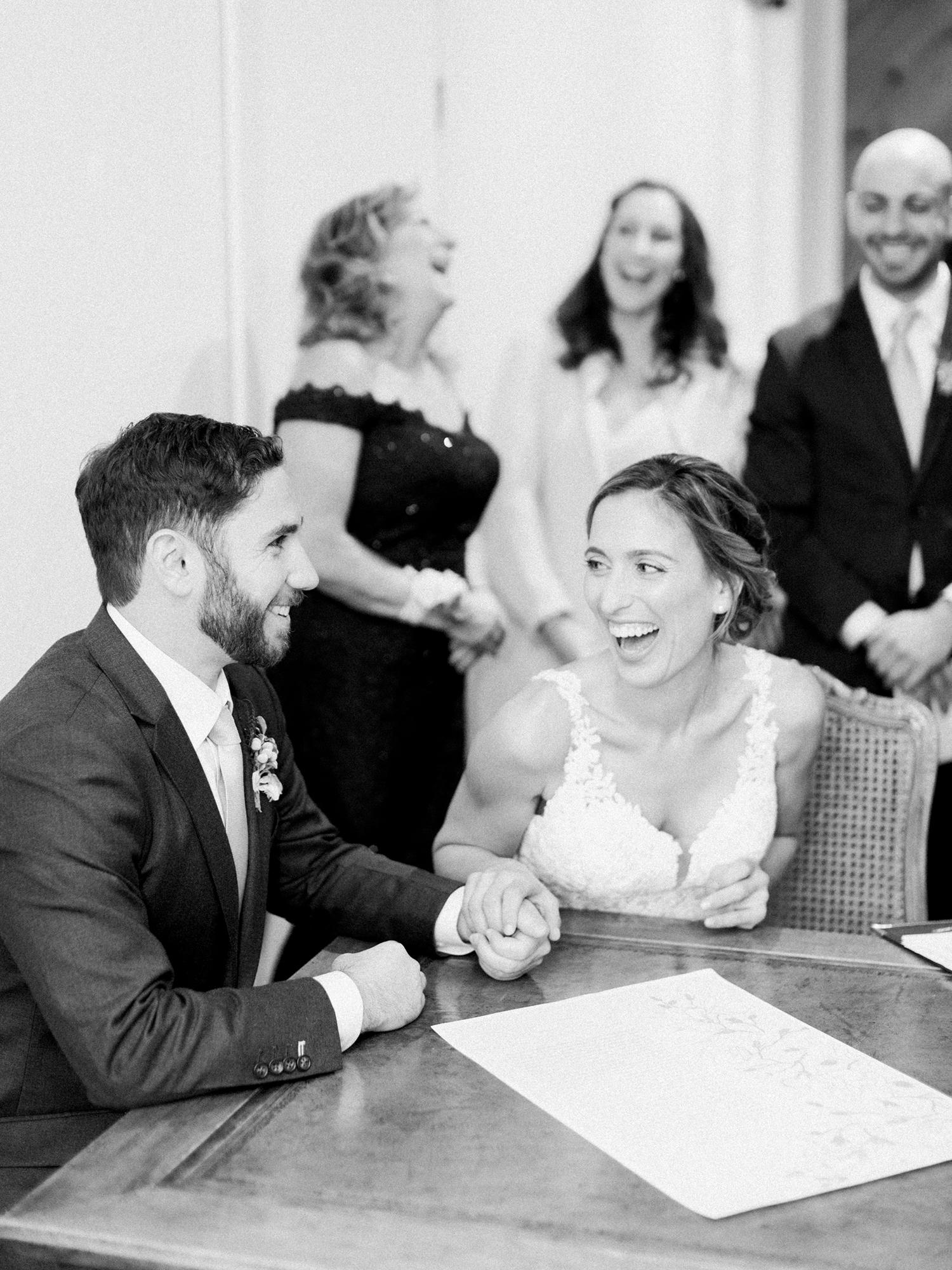 lauren aaron wedding ketubah signing