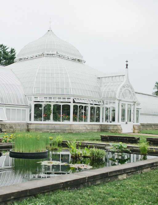 Phipps Conservatory and Botanical Gardens victorian greenhouse