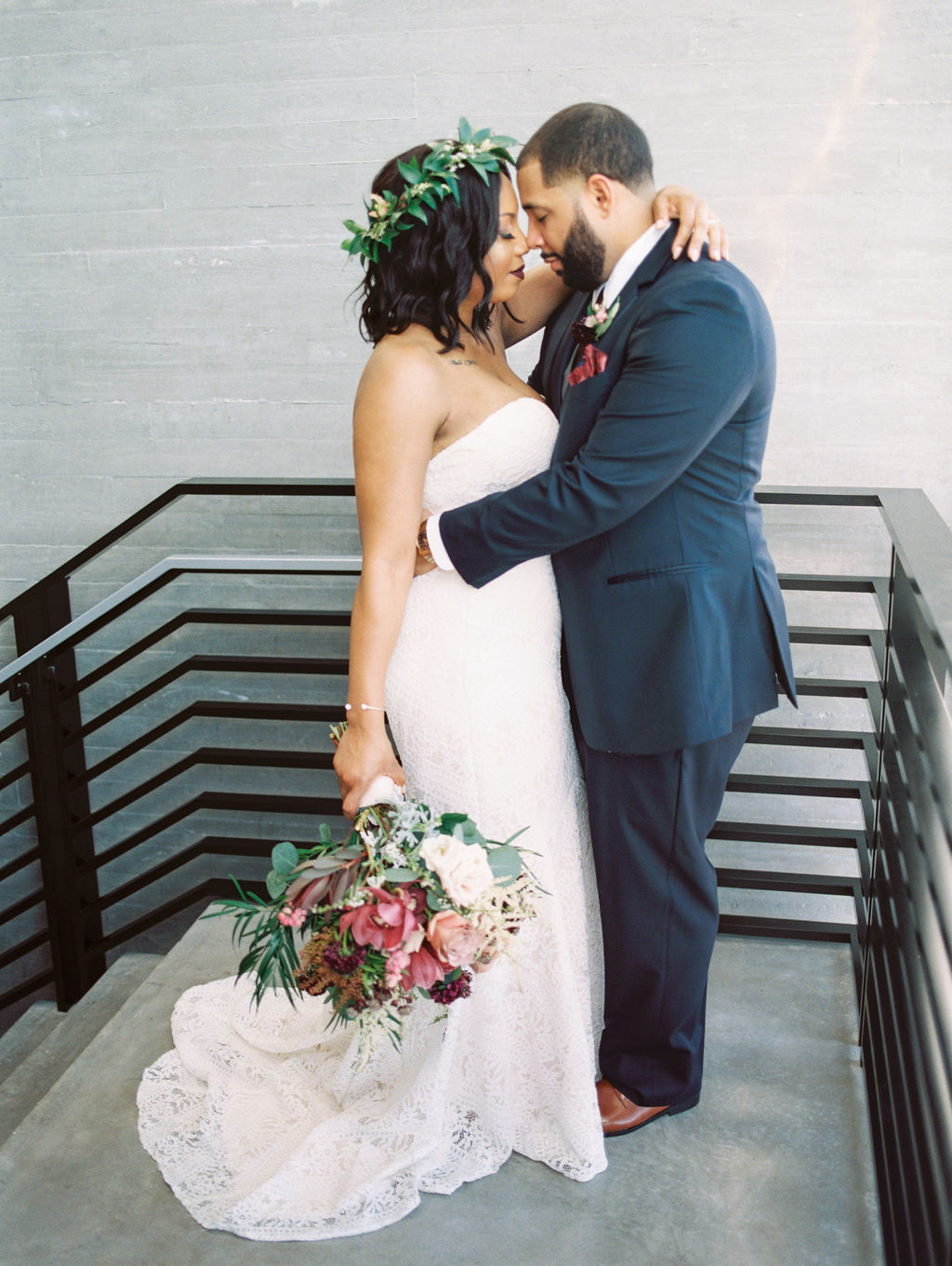 This Garden-Inspired Rooftop Wedding Took Place on a Sunny Morning in Tampa