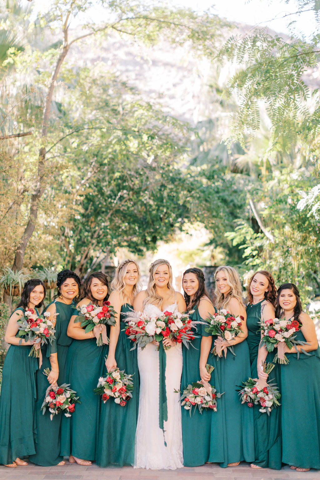 An Exquisite Bridal Party