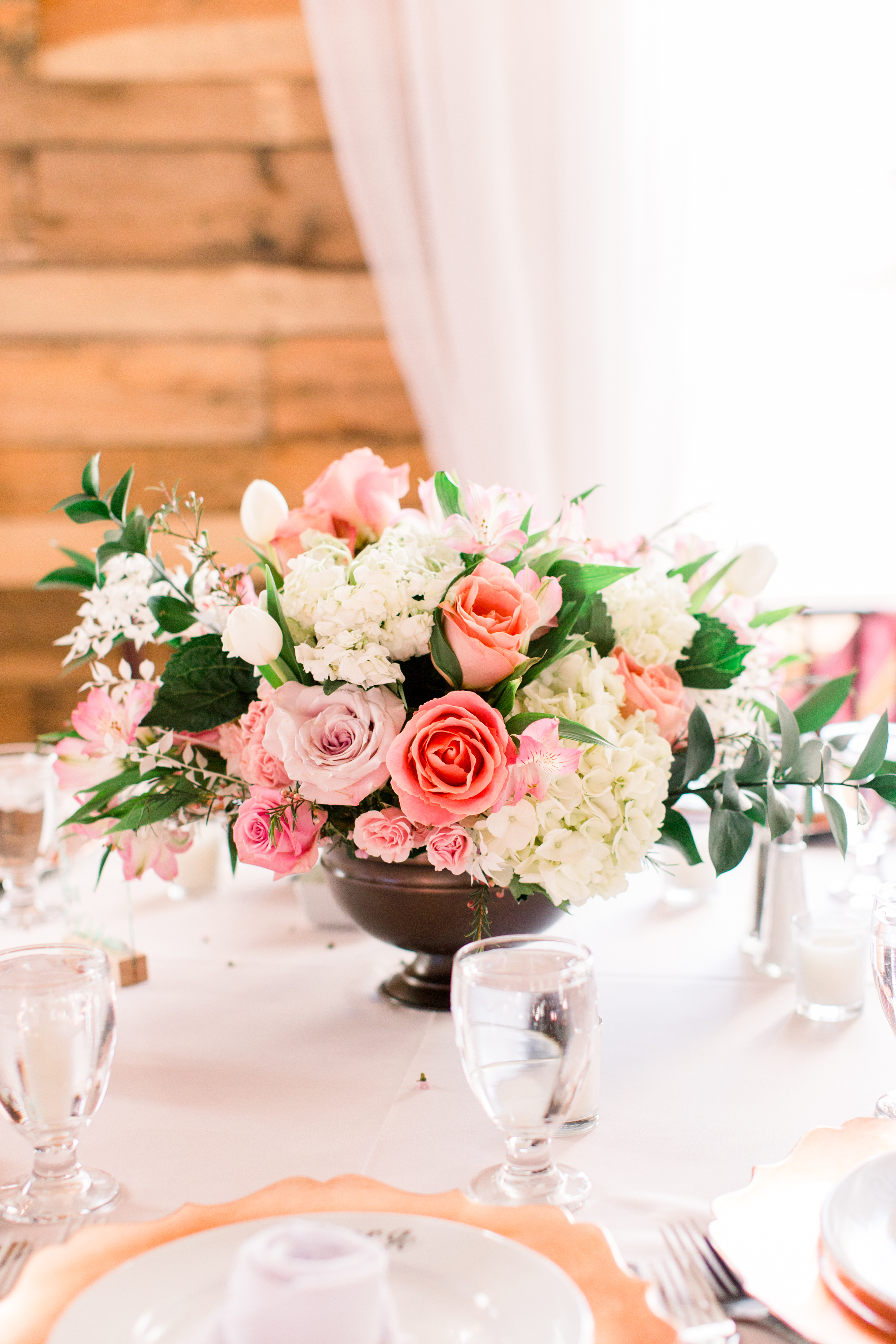 michelle nathan wedding centerpiece