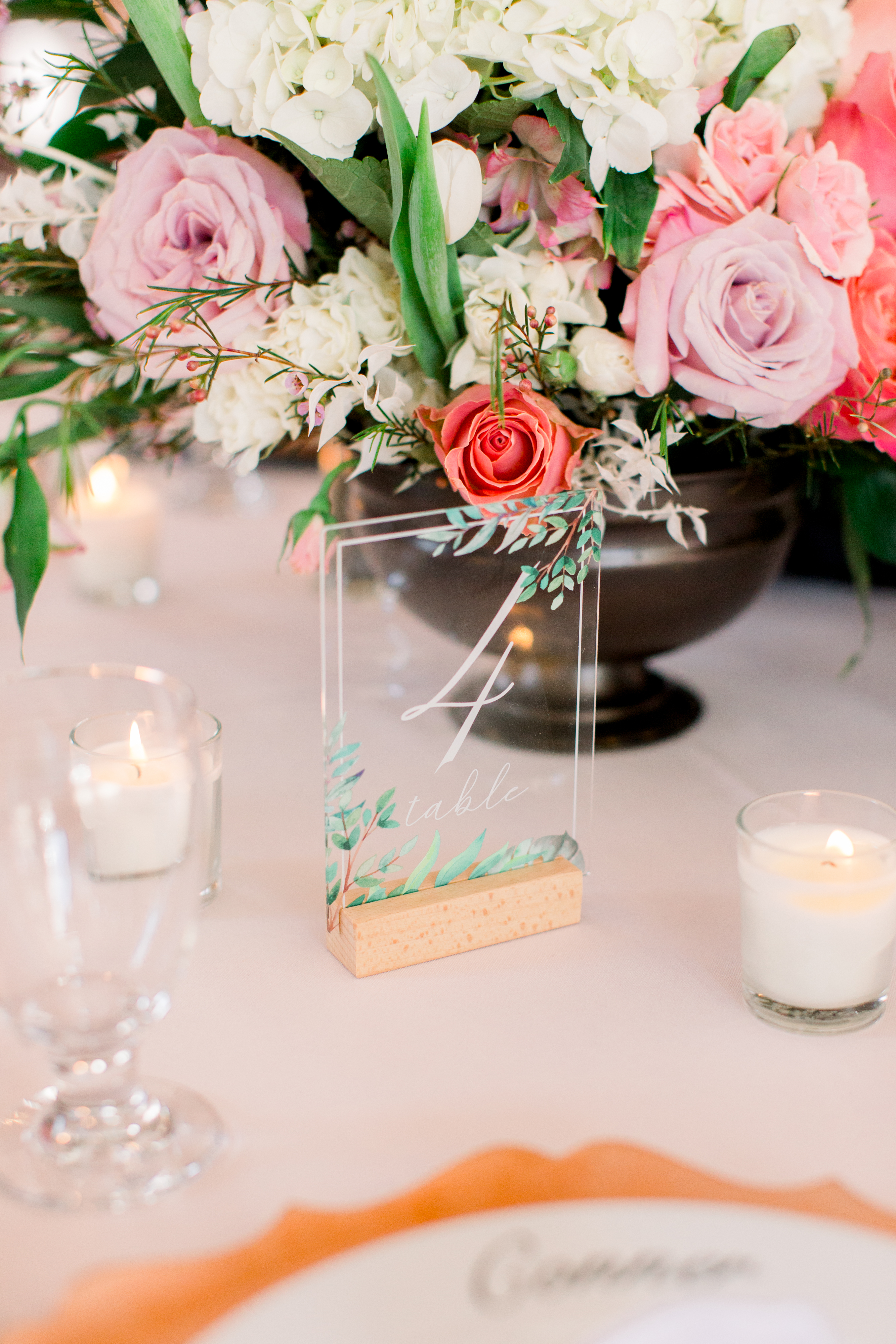 michelle nathan wedding table numbers