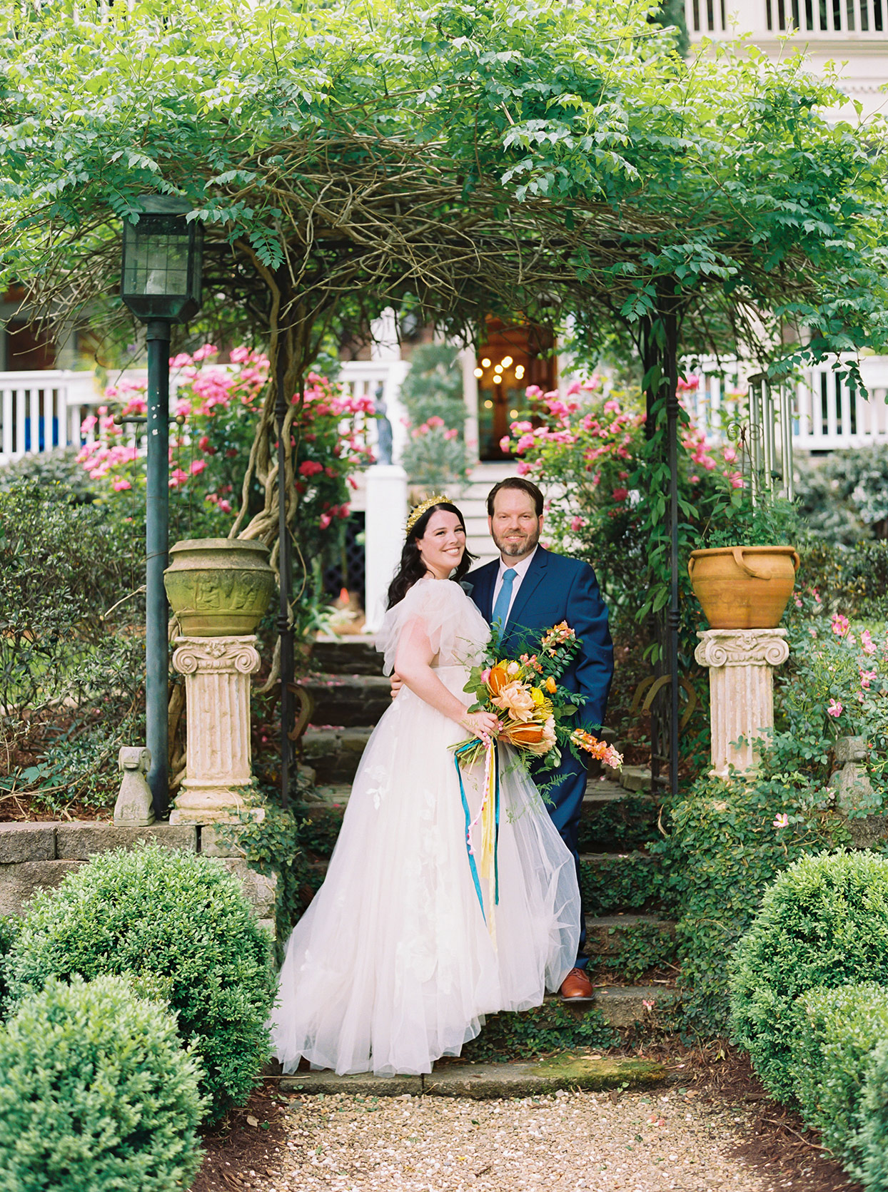 This English Garden-Inspired Wedding in North Carolina Was Influenced by Matisse