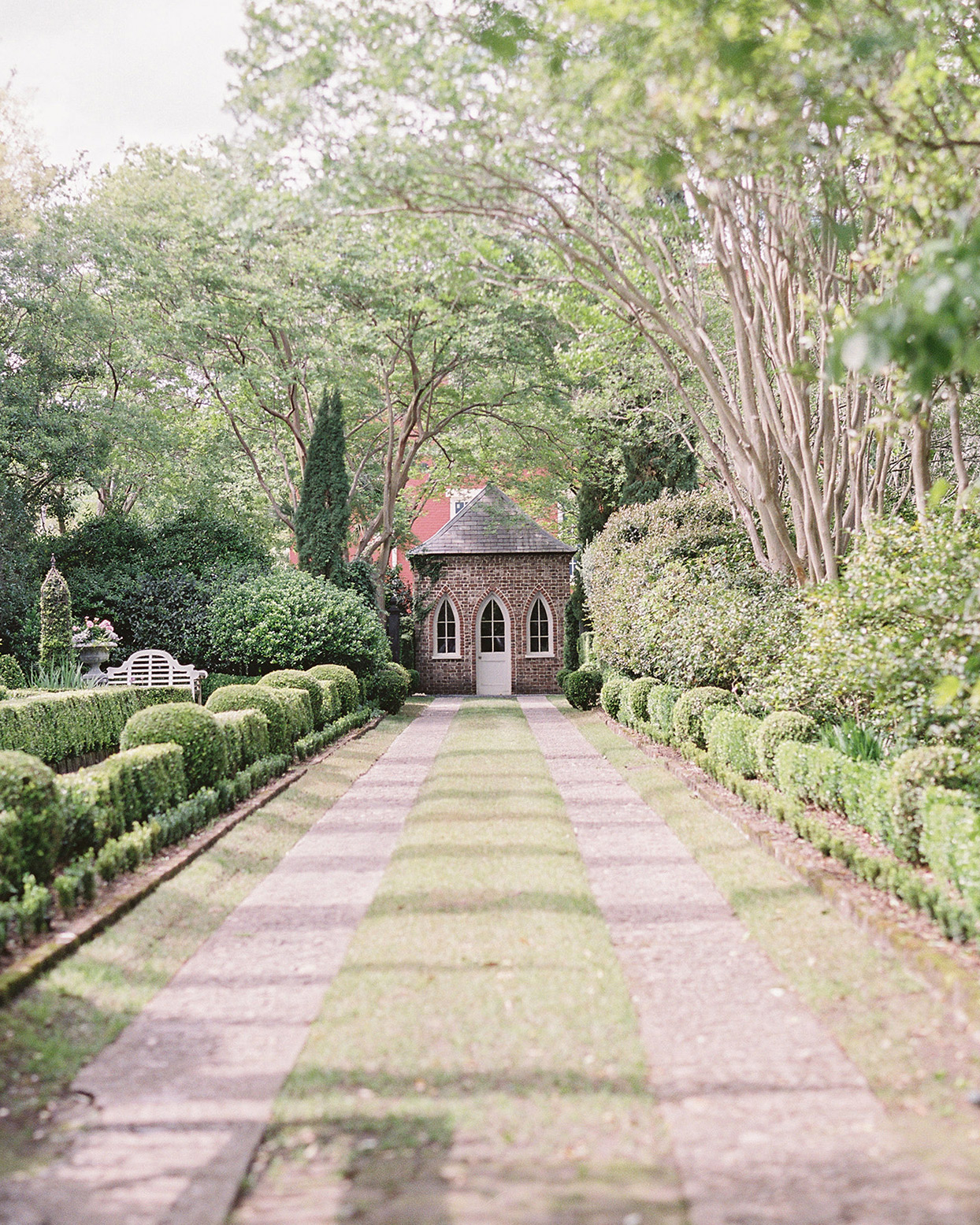 beverly steve wedding ceremony garden
