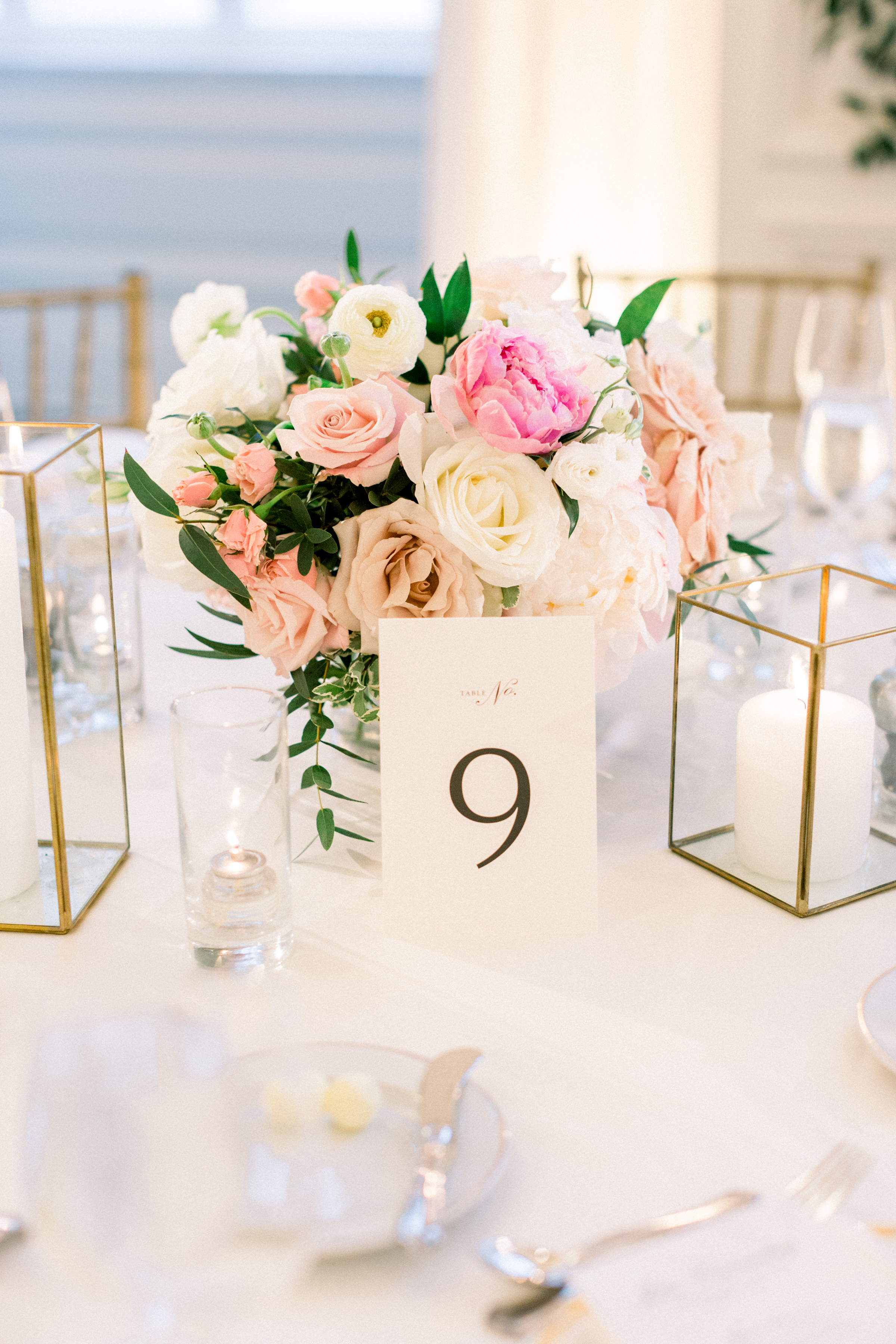 olivia collin wedding reception table numbers
