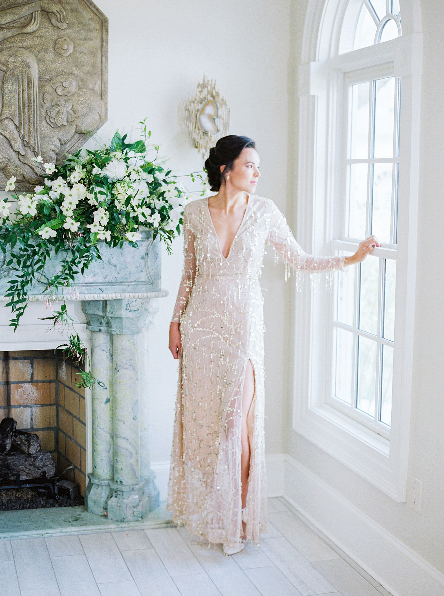 evan dustin vow renewal bride dress