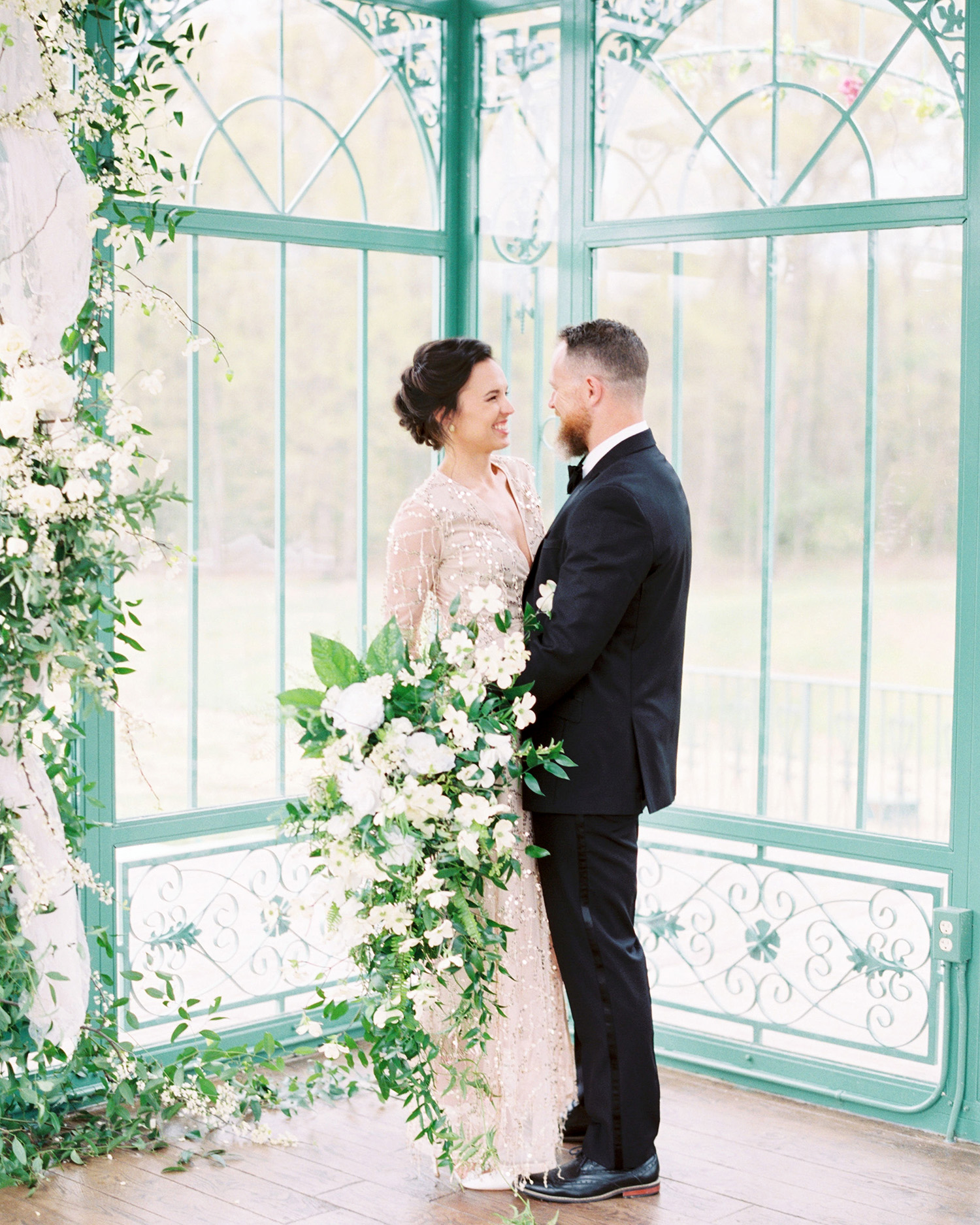 The Stars of This Virginia Couple's Romantic, Old-World Vow Renewal Were Their Children