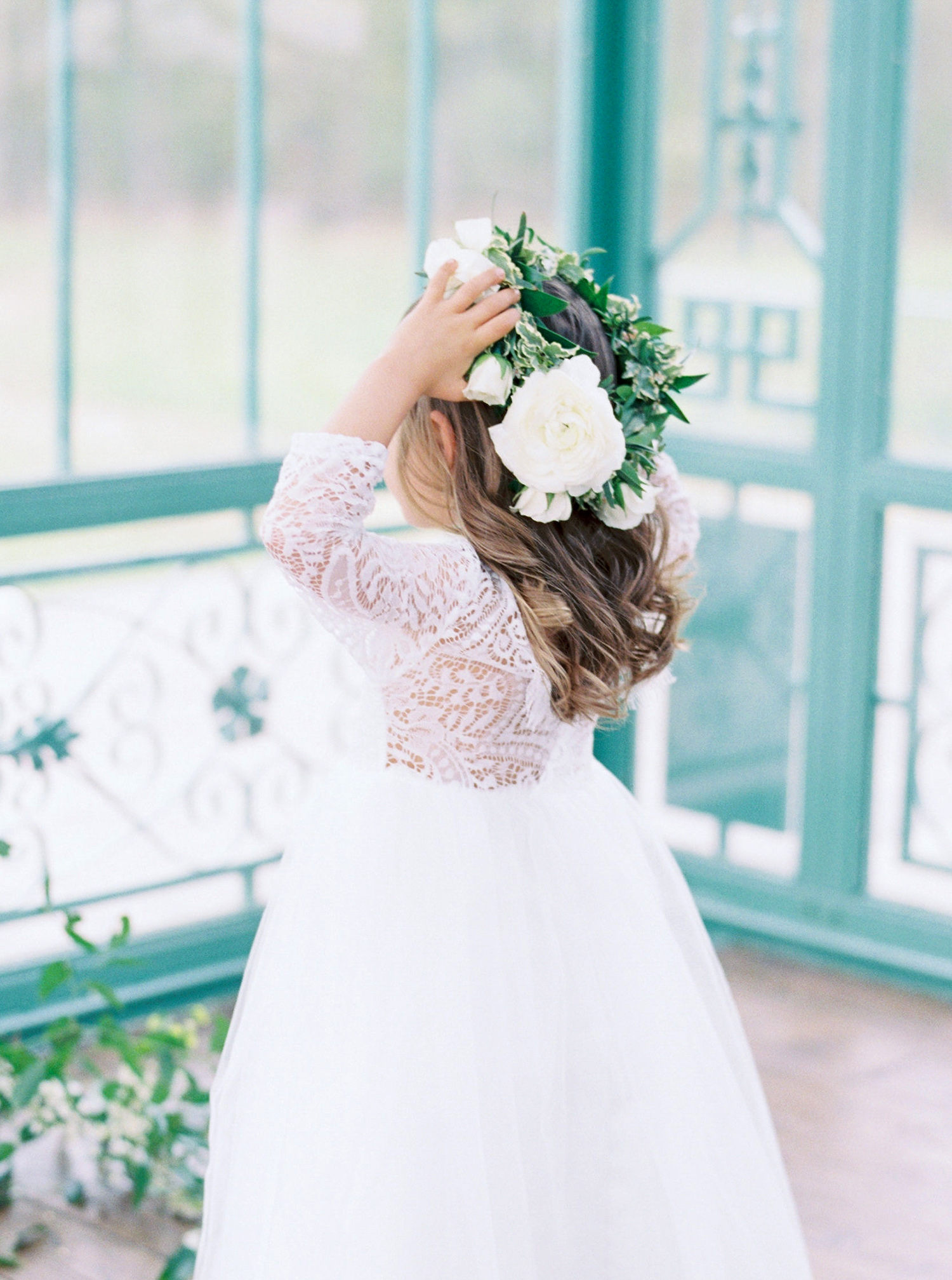 evan dustin vow renewal daughter flower girl