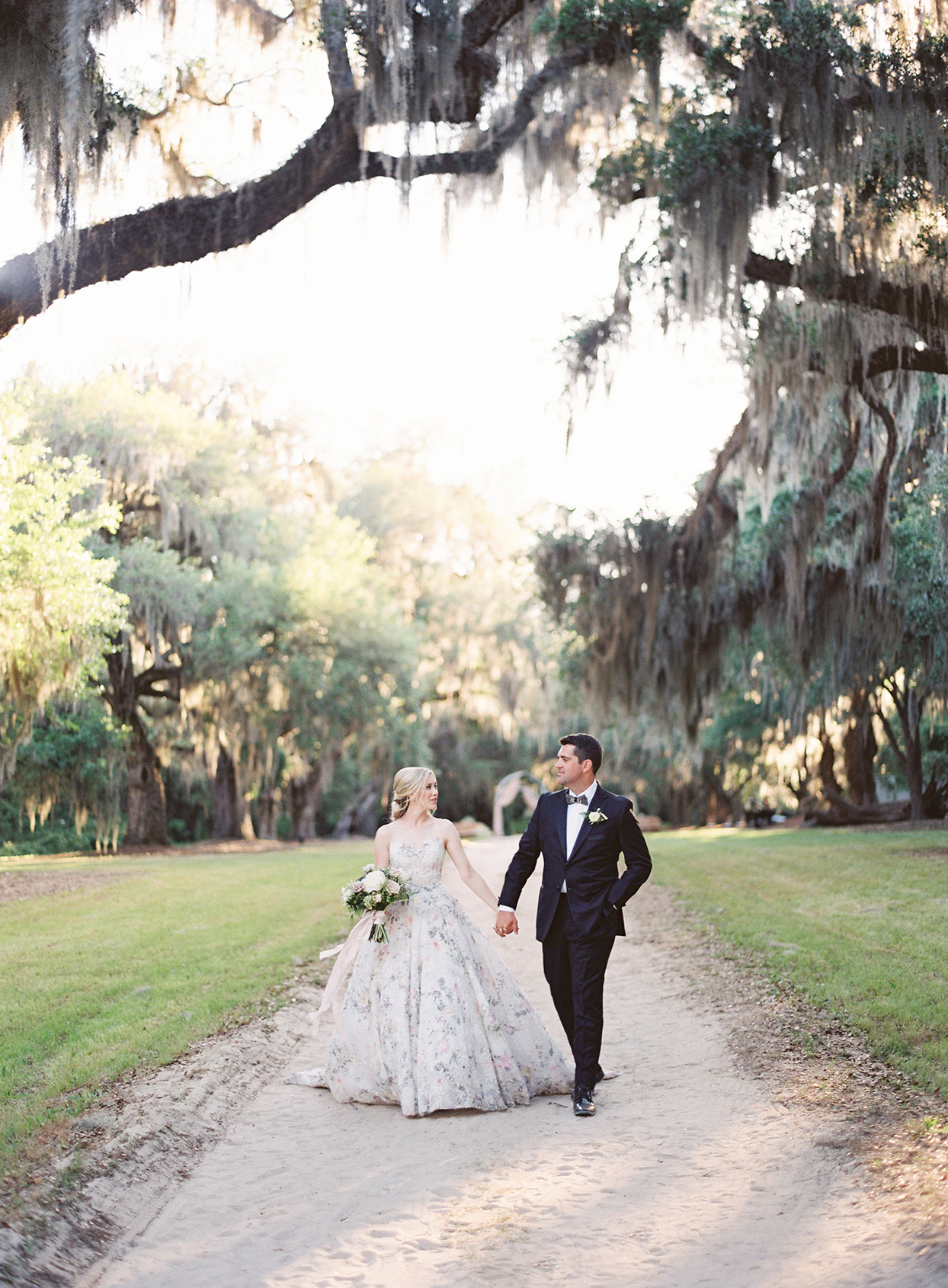 Old Stone Ruins Set the Scene for This Secret Garden-Themed Wedding in South Carolina