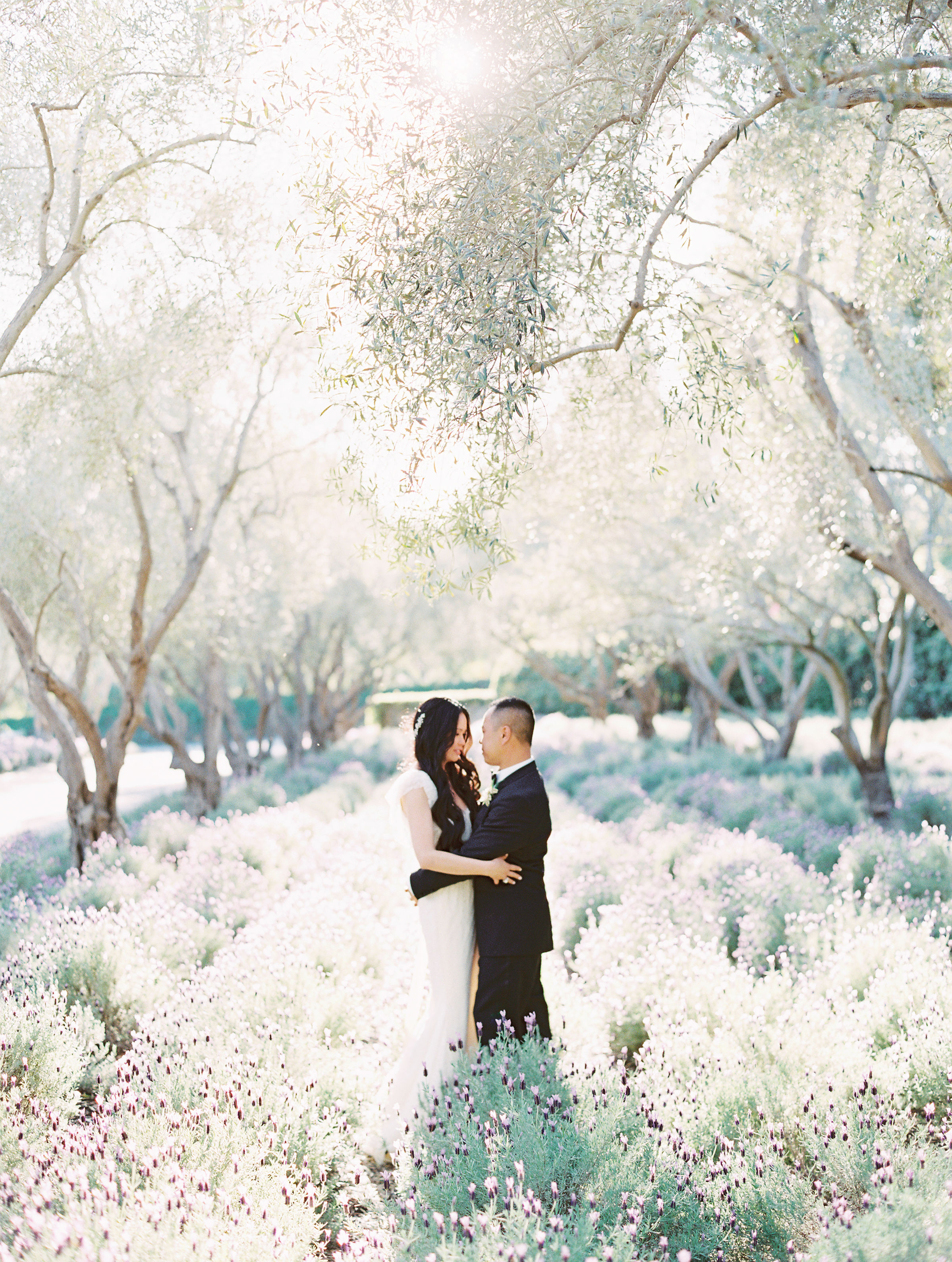 This Couple's English Garden-Inspired Wedding in Montecito, California, Was 20 Years in the Making