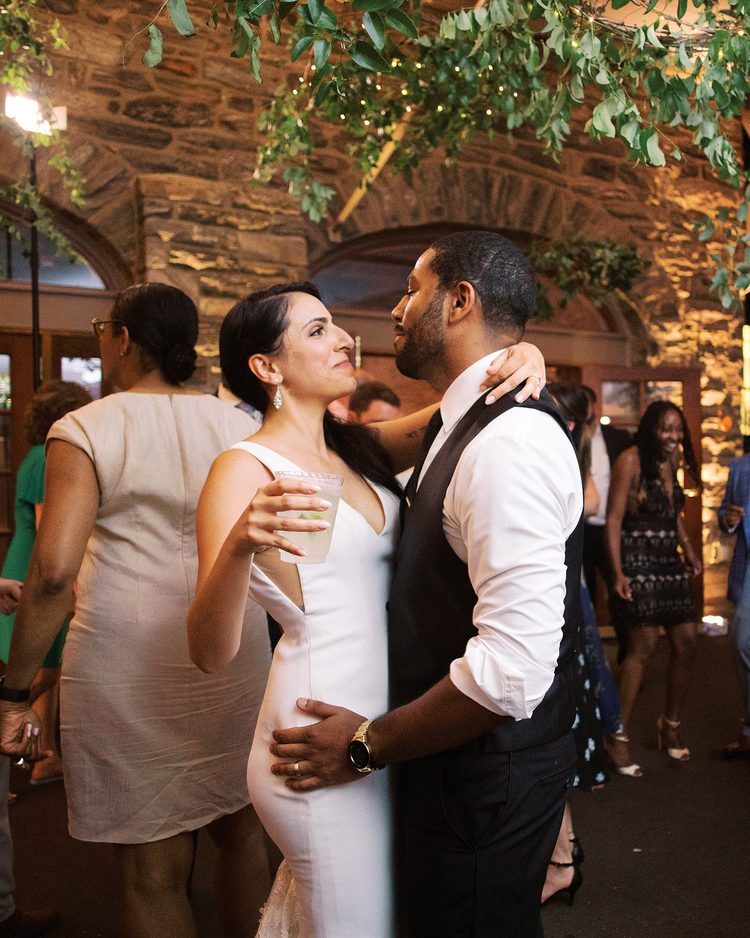 noel mike wedding couple reception dancing