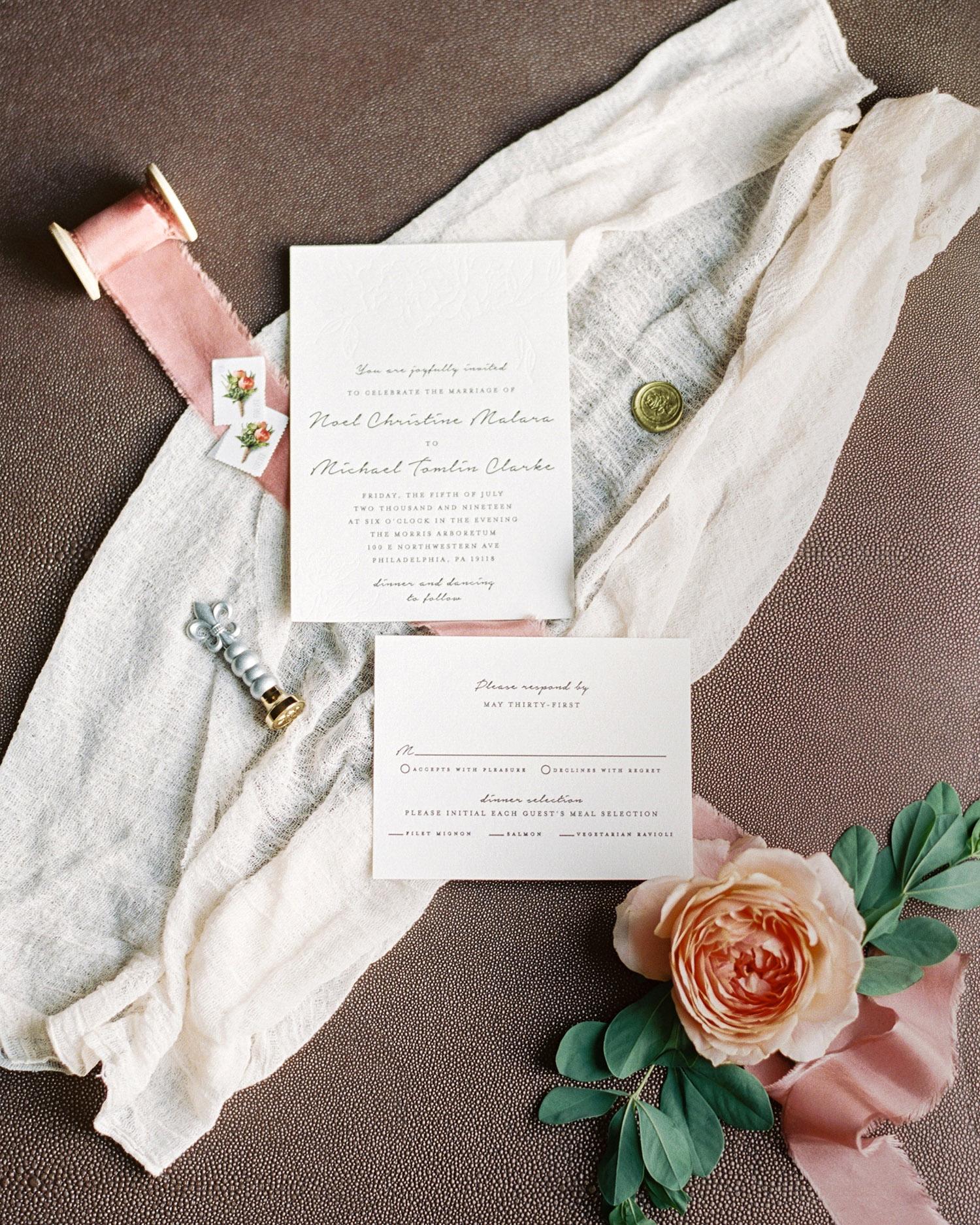 noel mike wedding invitations