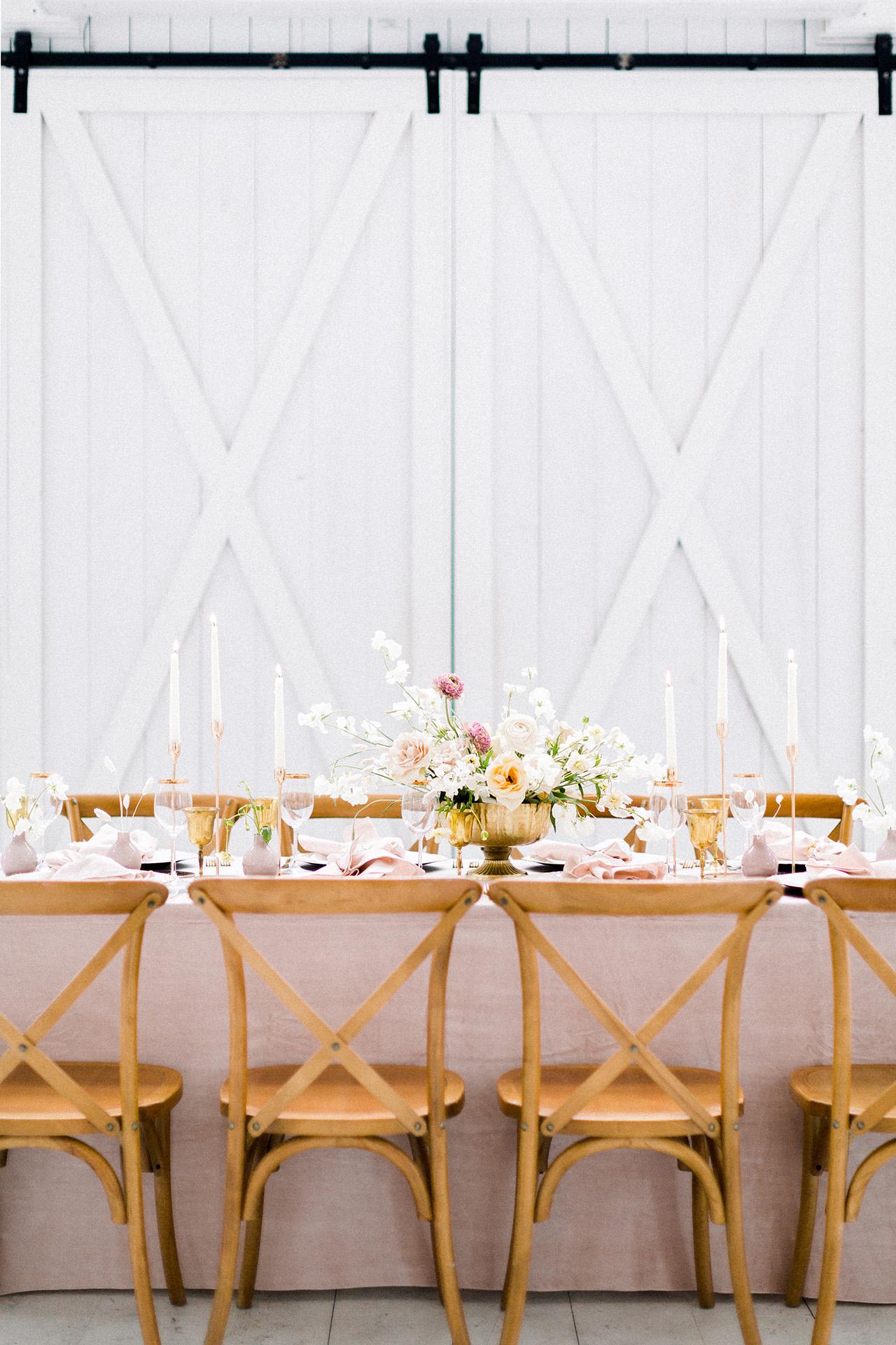 summer bridal shower ideas elevated bar decor
