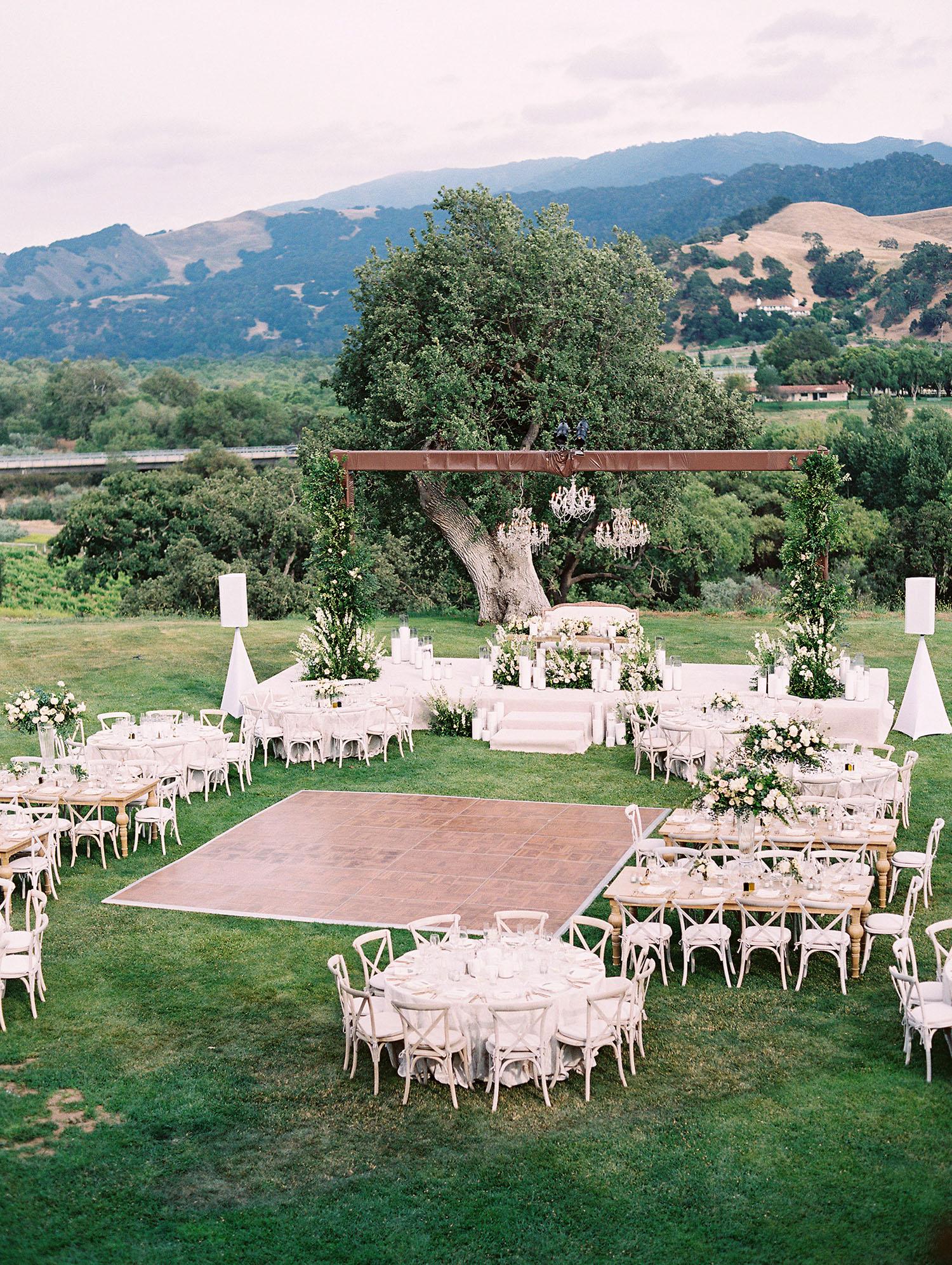 kati erik wedding reception space